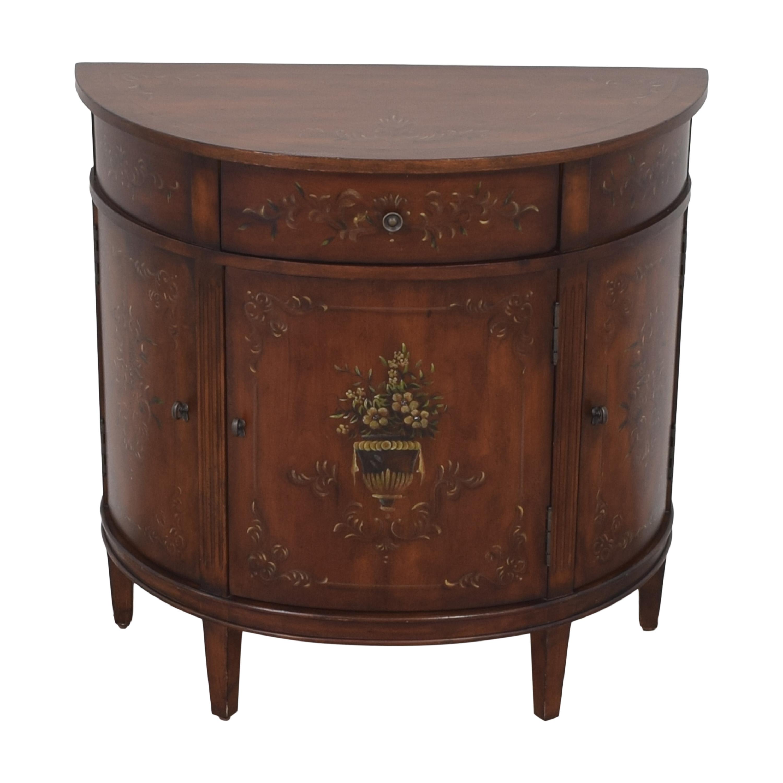 shop Ethan Allen Ethan Allen Demilune Accent Cabinet online