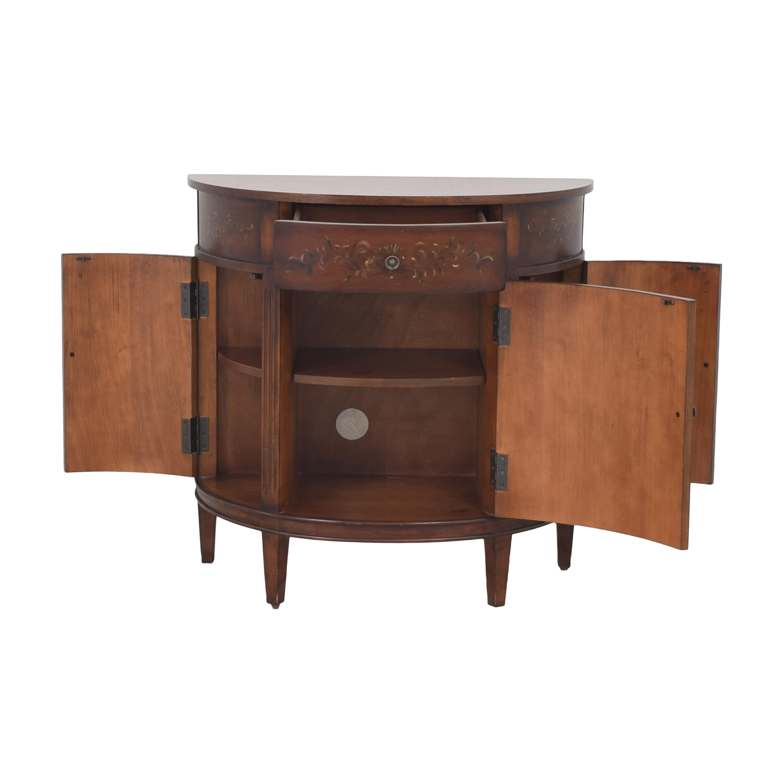 Ethan Allen Ethan Allen Demilune Accent Cabinet for sale