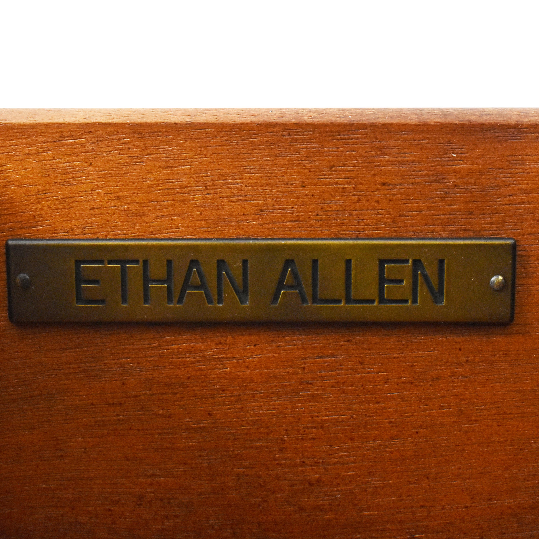 Ethan Allen Ethan Allen Demilune Accent Cabinet ma