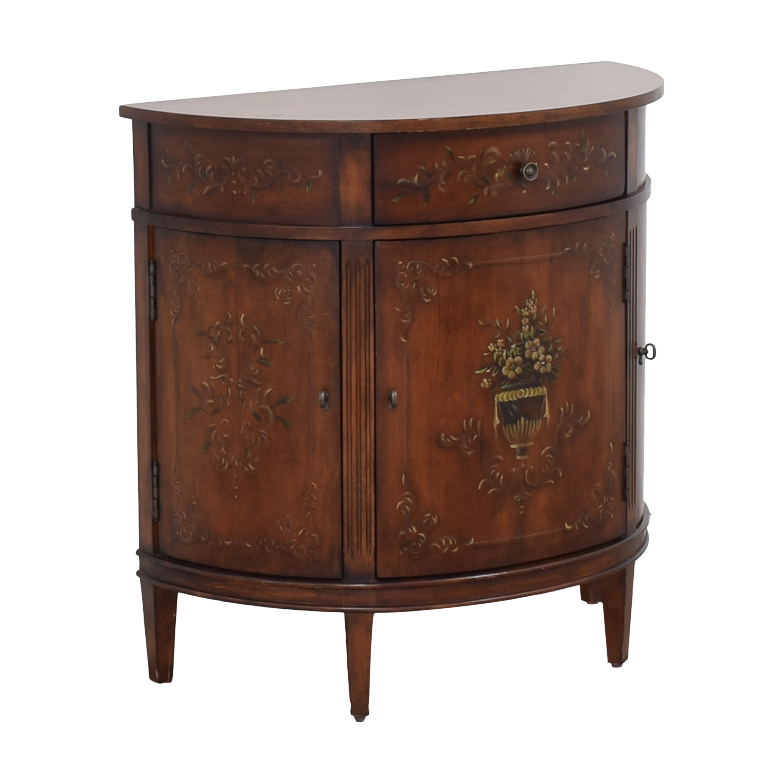 Ethan Allen Ethan Allen Demilune Accent Cabinet Cabinets & Sideboards