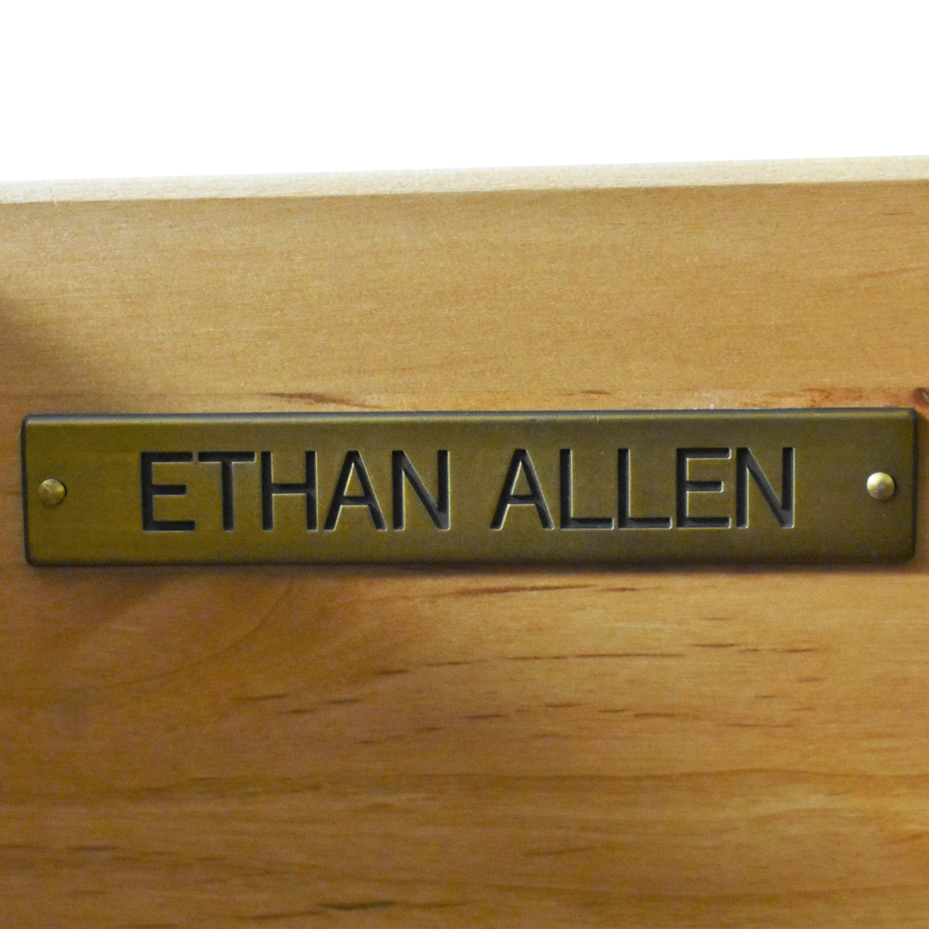Ethan Allen Ethan Allen Decorated Country French Armoire