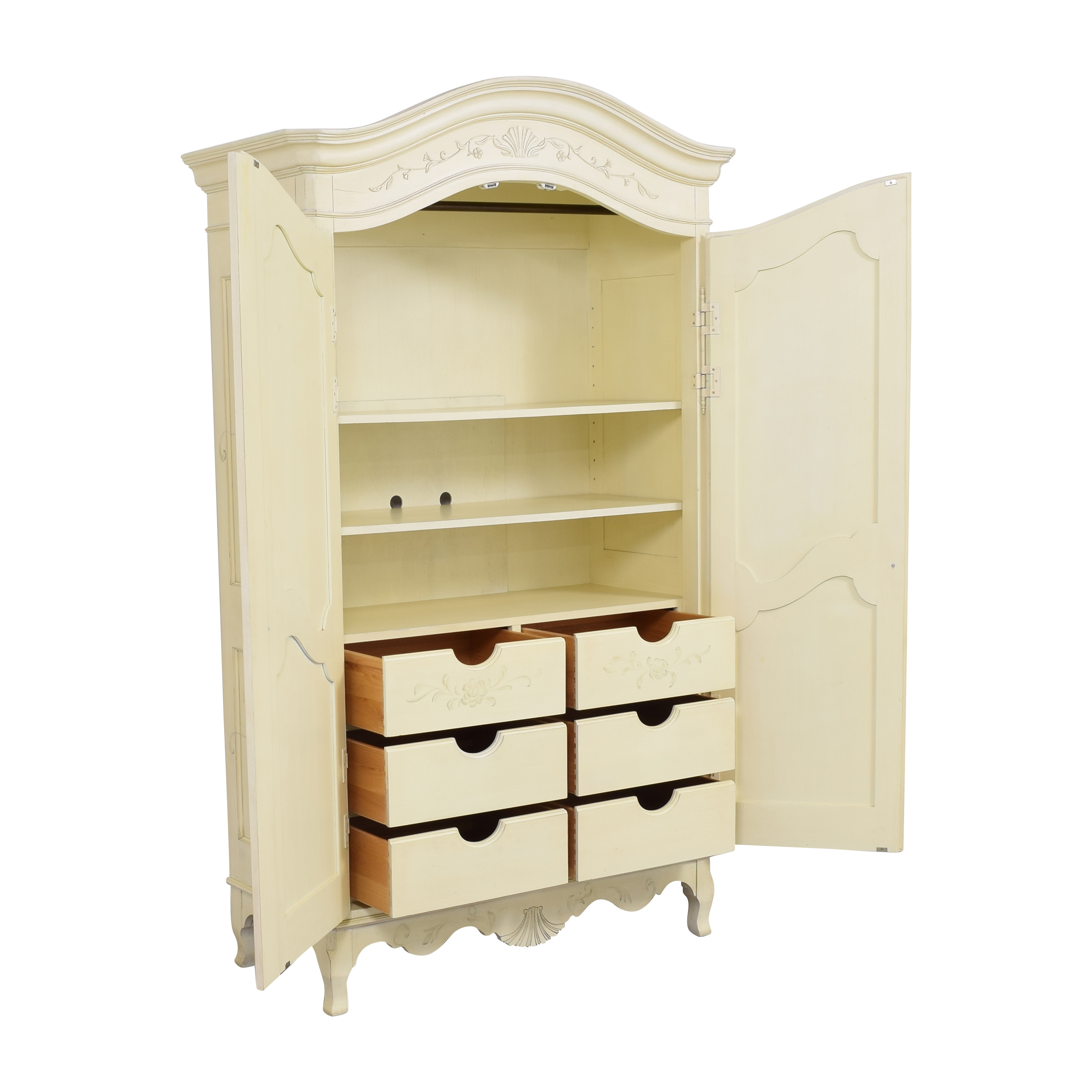 Ethan Allen Ethan Allen Decorated Country French Armoire price