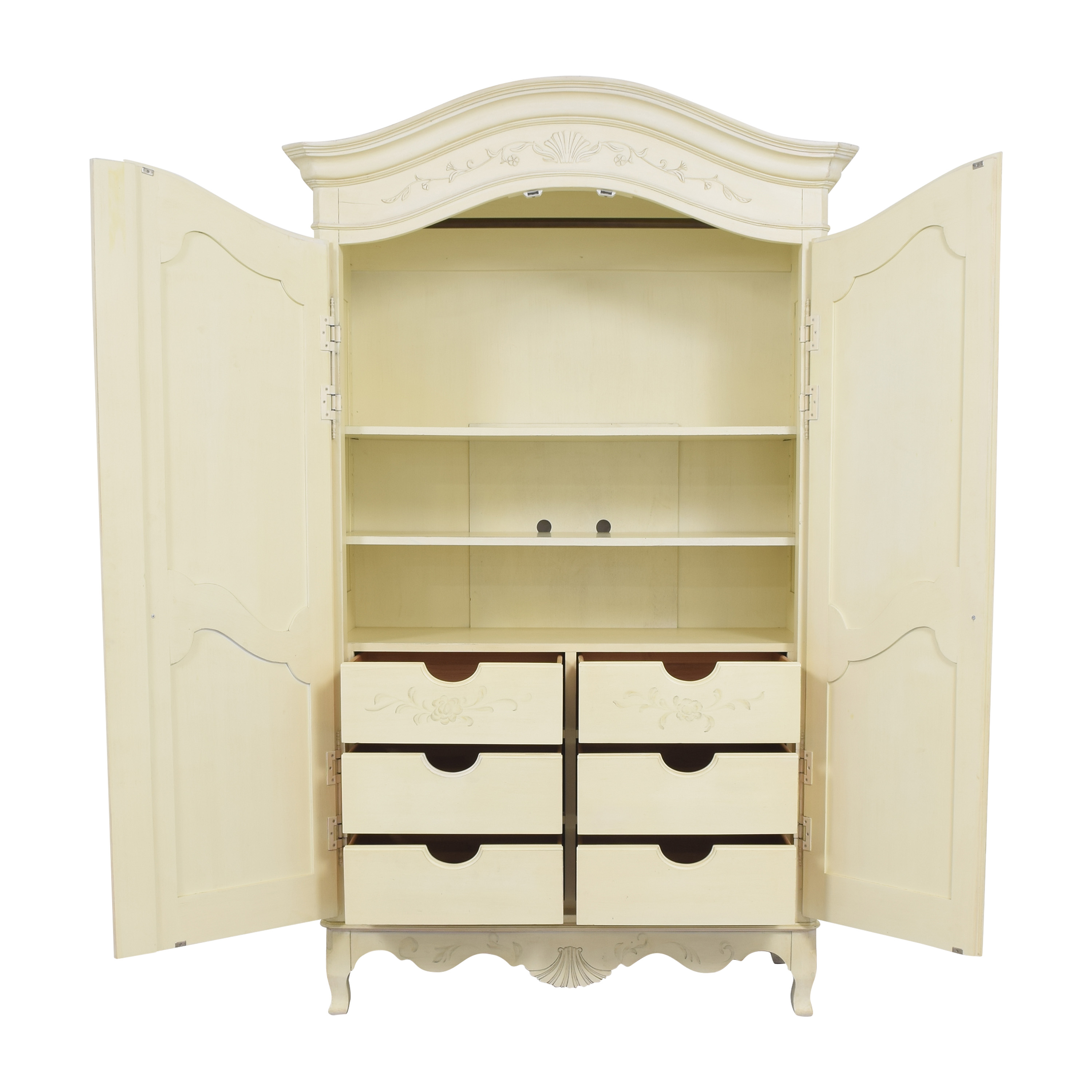 Ethan Allen Ethan Allen Decorated Country French Armoire for sale