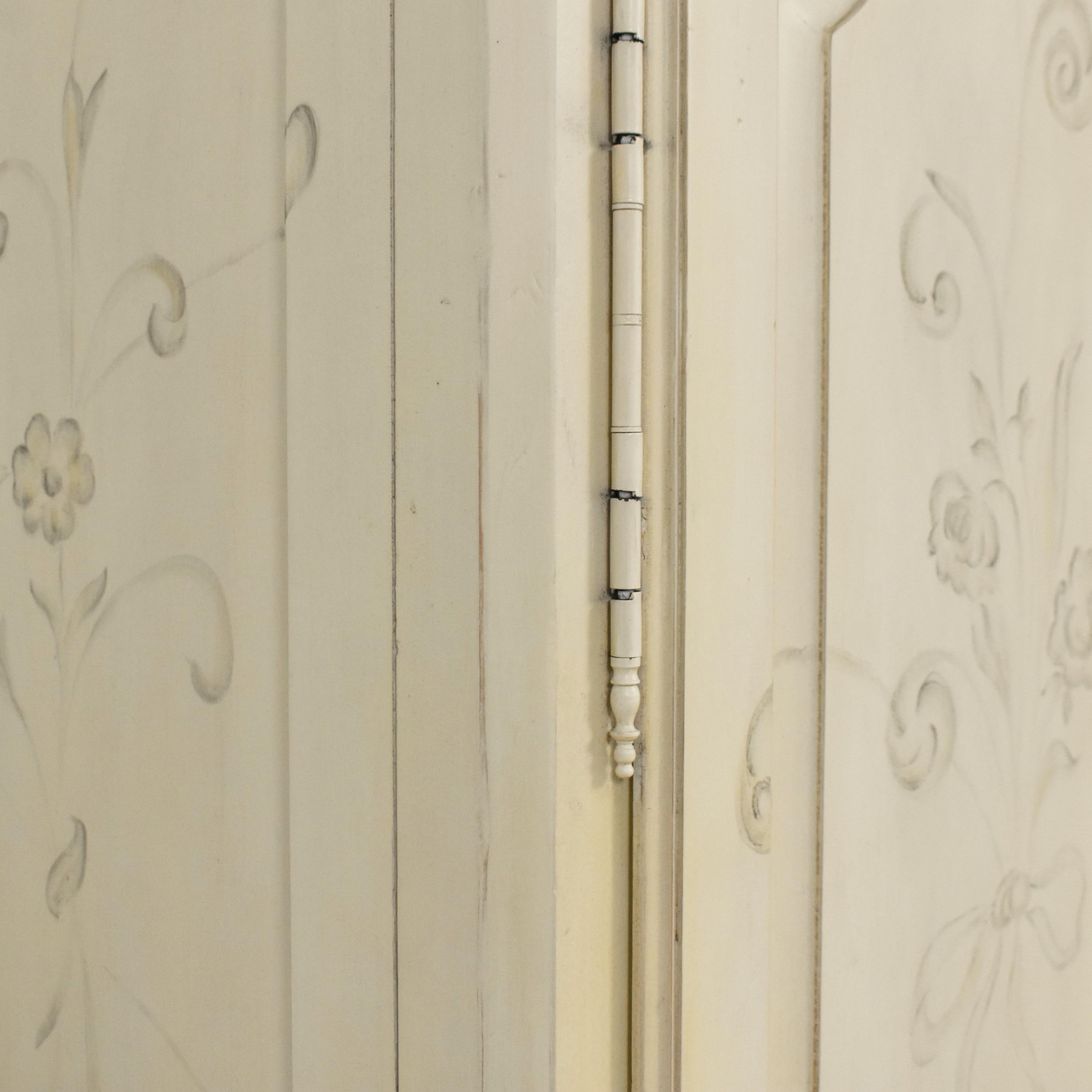 Ethan Allen Ethan Allen Decorated Country French Armoire ma