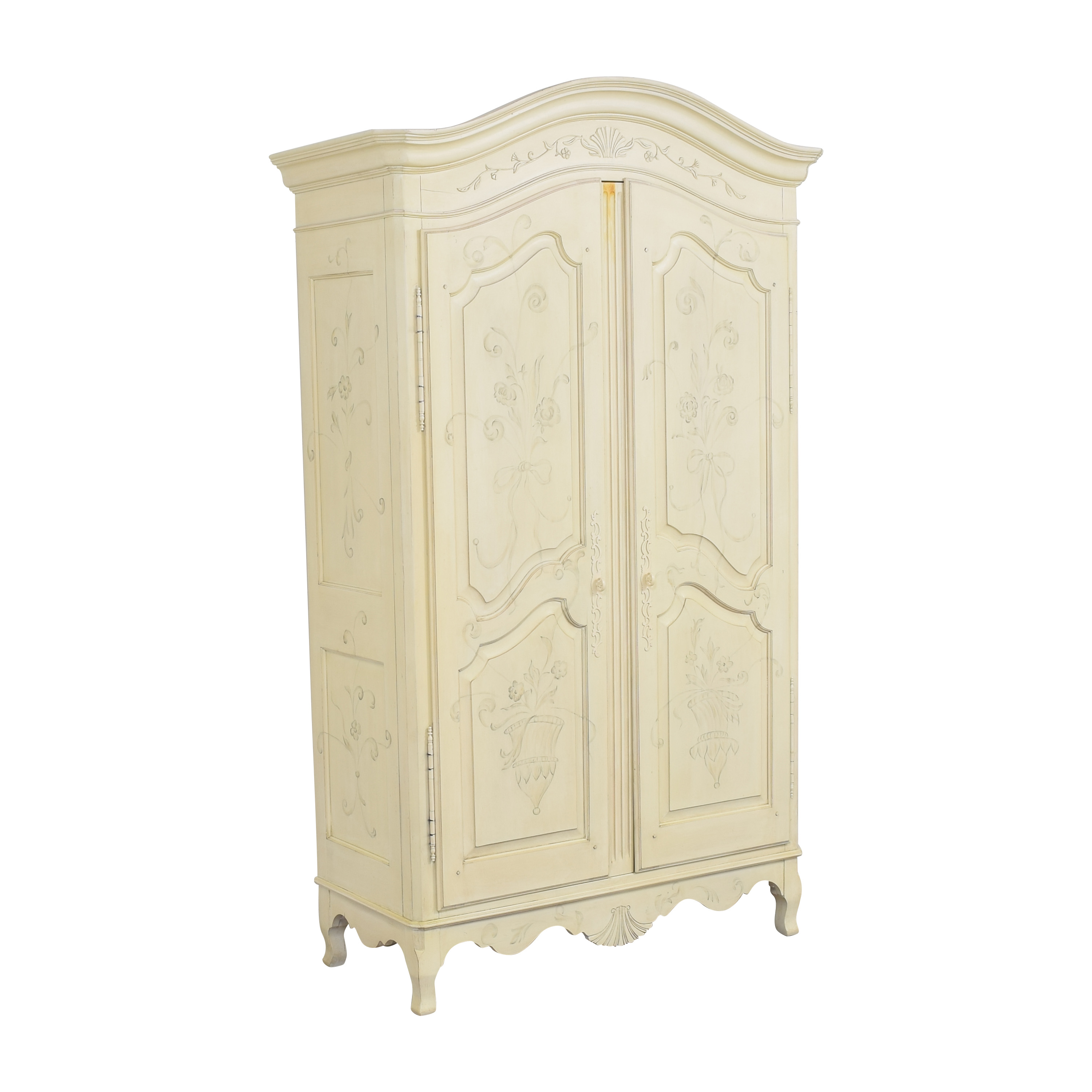 Ethan Allen Ethan Allen Decorated Country French Armoire pa