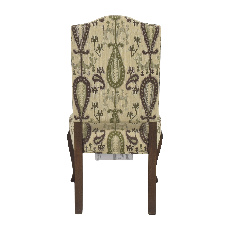 buy Ethan Allen Hadley Cabriole-Leg Side Chair Ethan Allen Dining Chairs