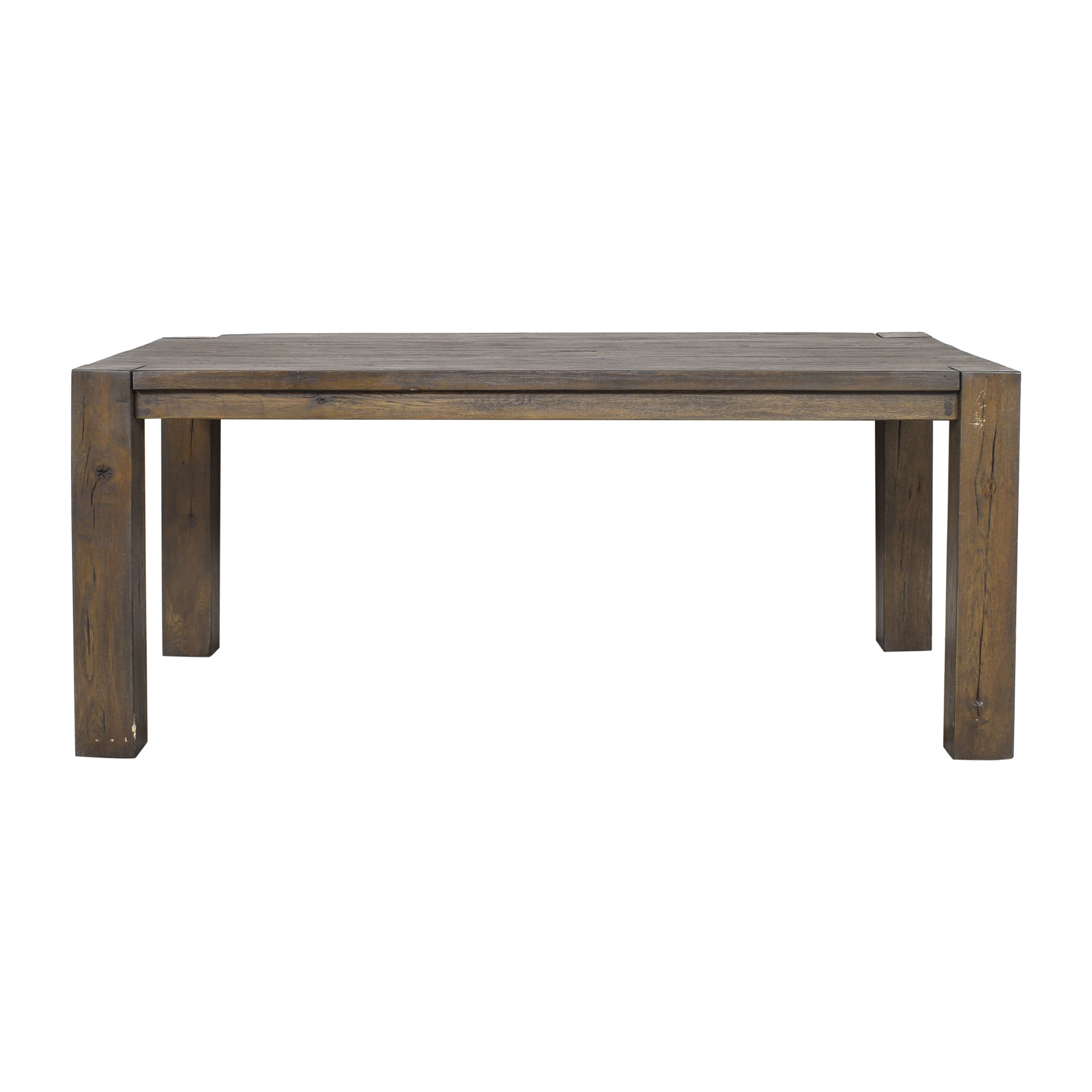 Restoration Hardware Restoration Hardware Reclaimed Russian Oak Parsons Rectangular Dining Table ct
