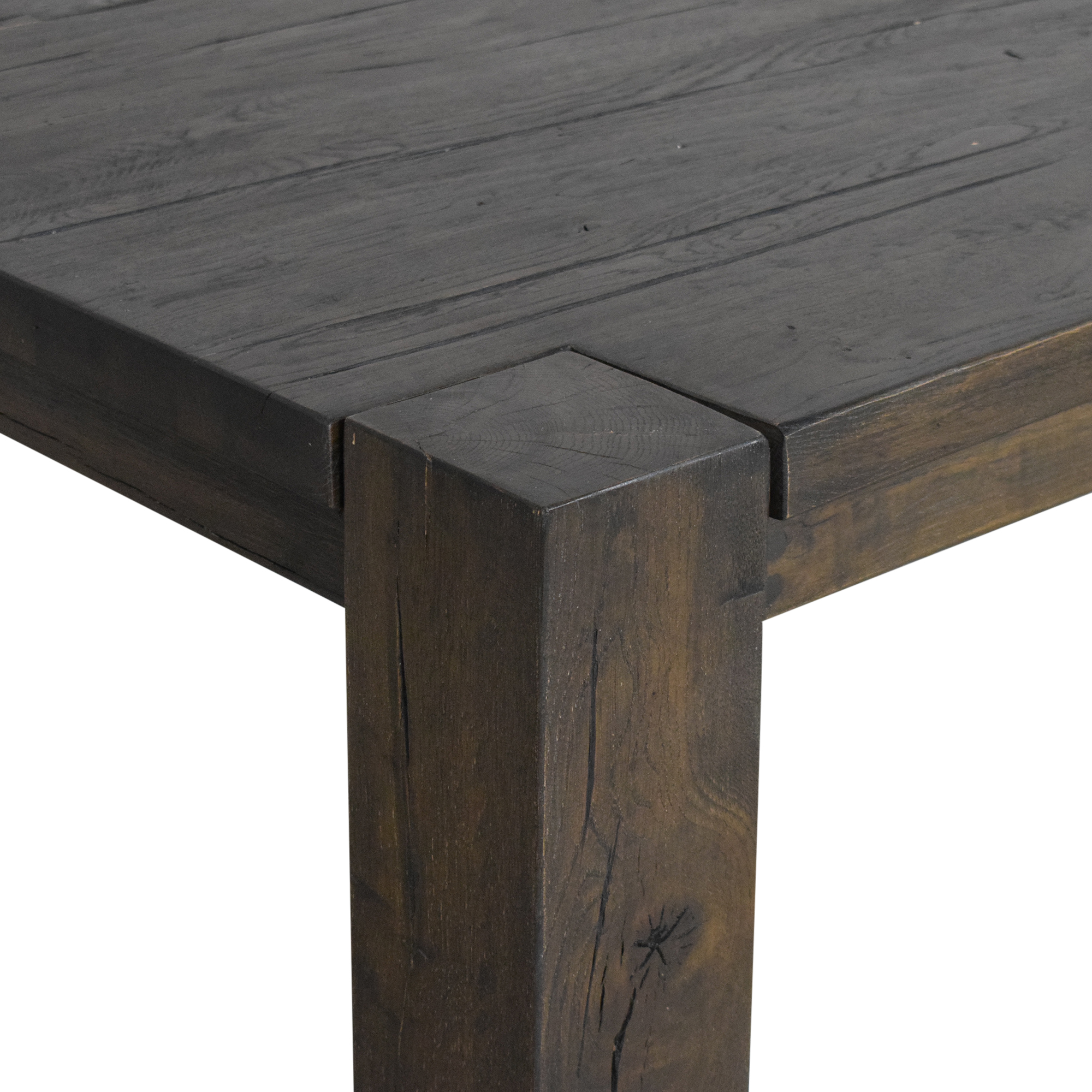 54 Off Restoration Hardware Restoration Hardware Reclaimed Russian Oak Parsons Rectangular Dining Table Tables