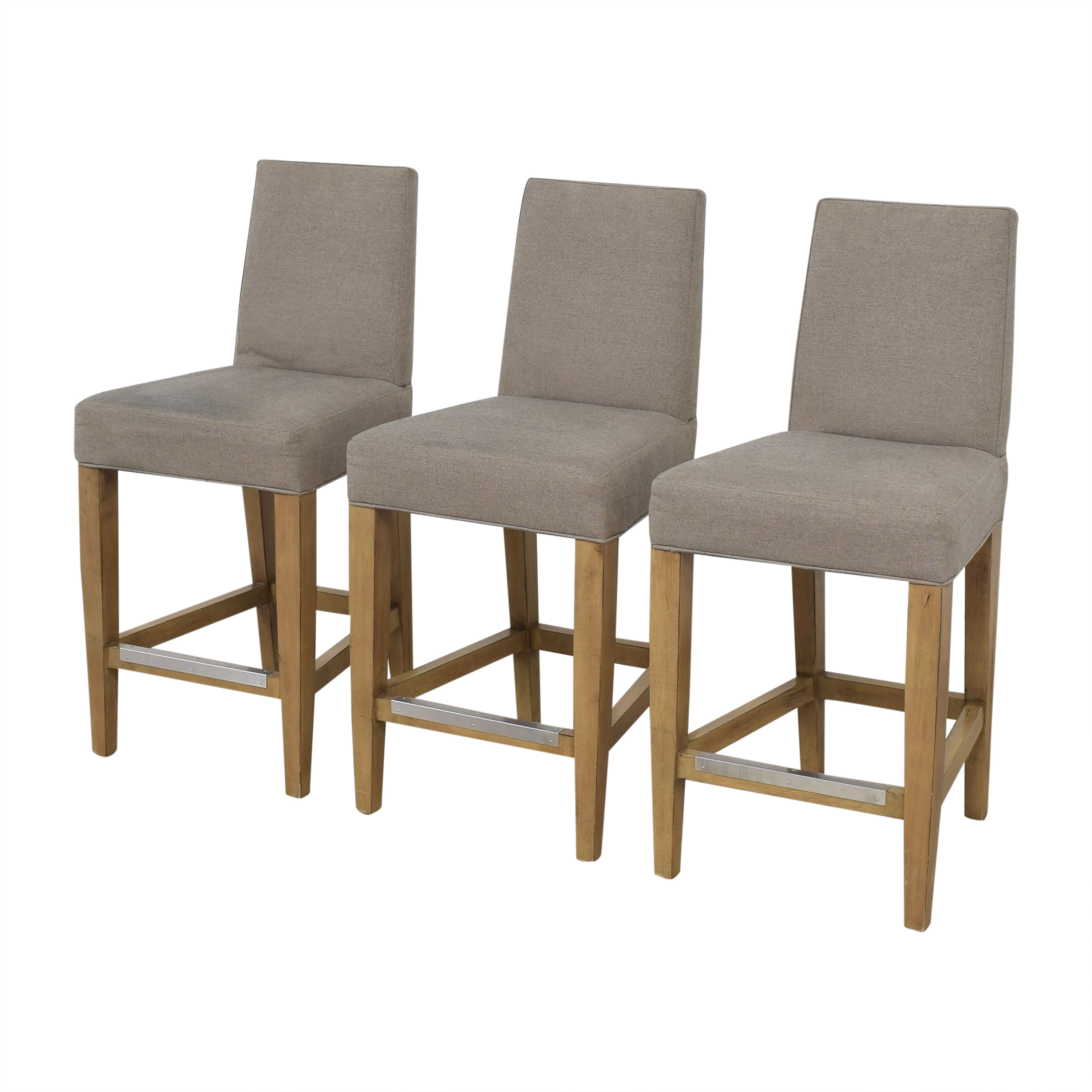 Lillian August Lillian August Couture Upholstered Counter Stools nj