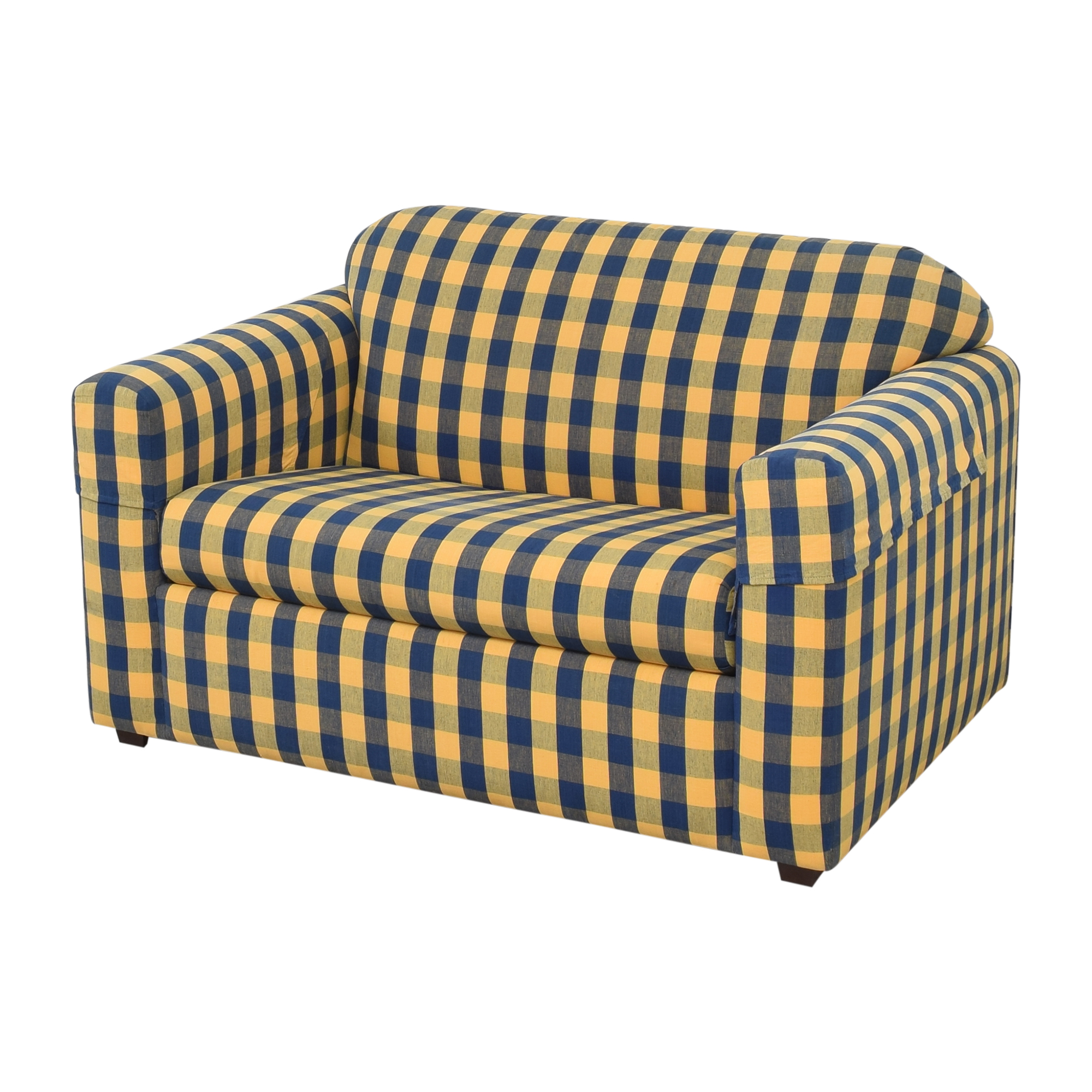 Flexsteel Flexsteel Sleephaven Twin Sleeper Sofa dimensions