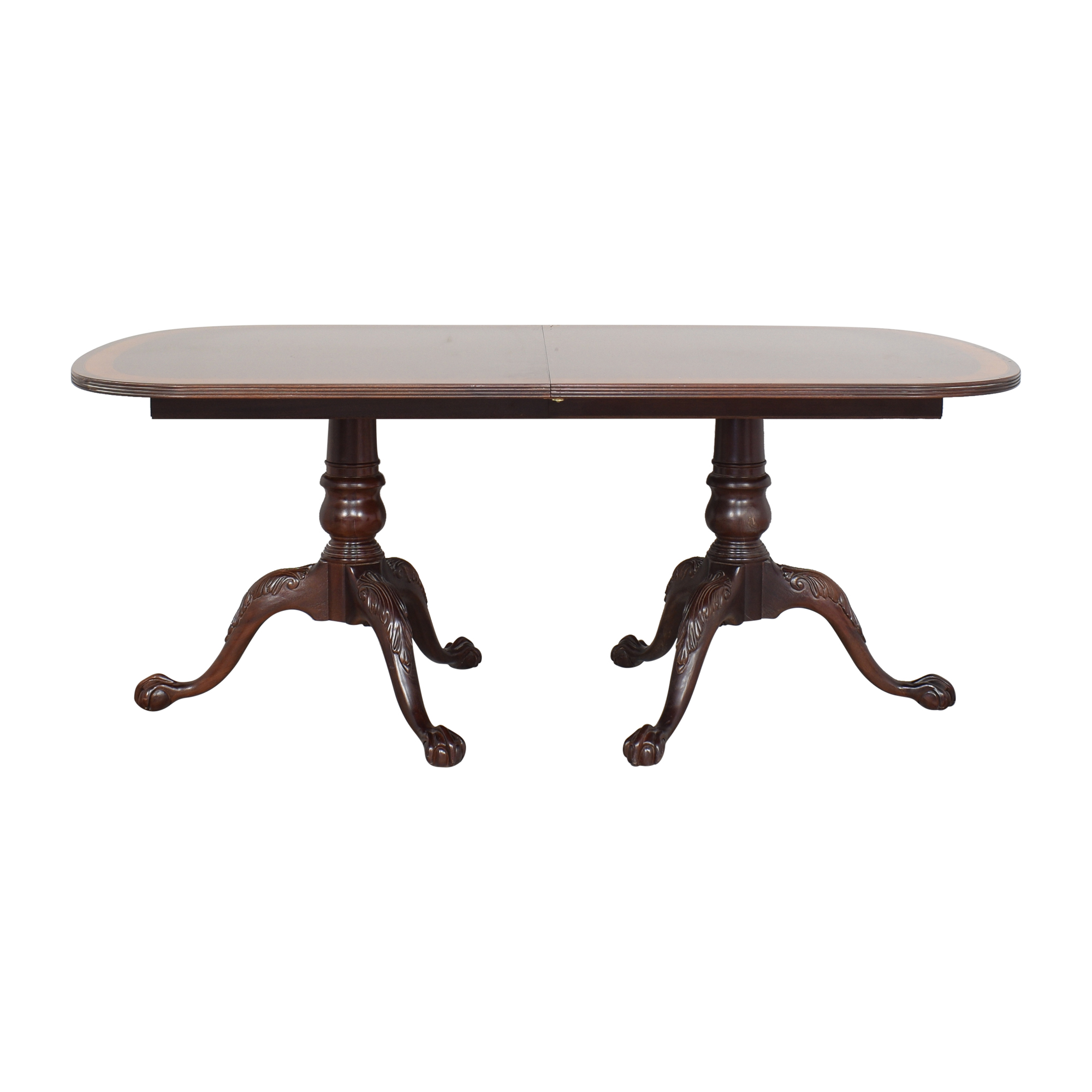Ethan Allen Ethan Allen 18th Century Extendable Dining Table dimensions