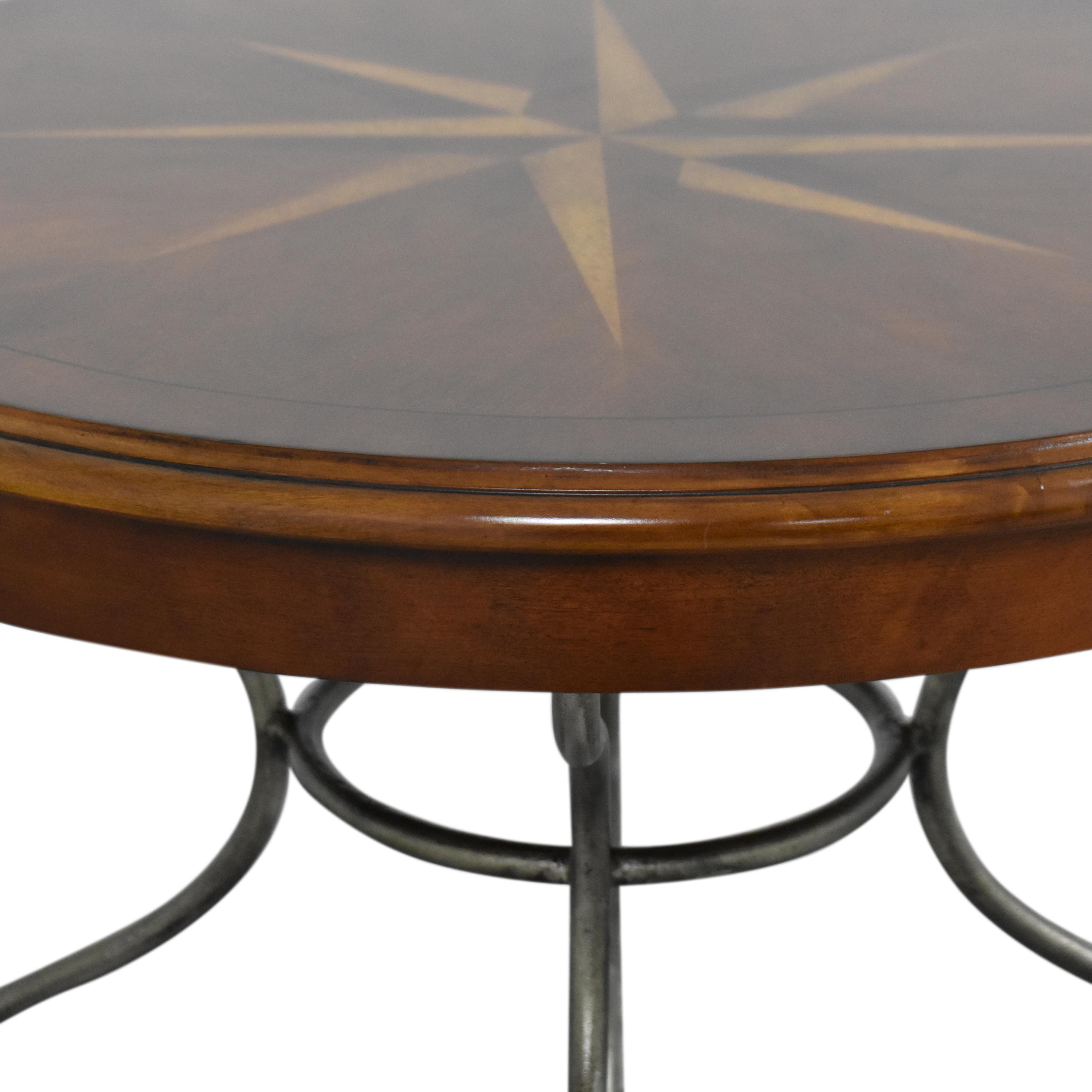 Ethan Allen Ethan Allen Ornate Round End Table nyc