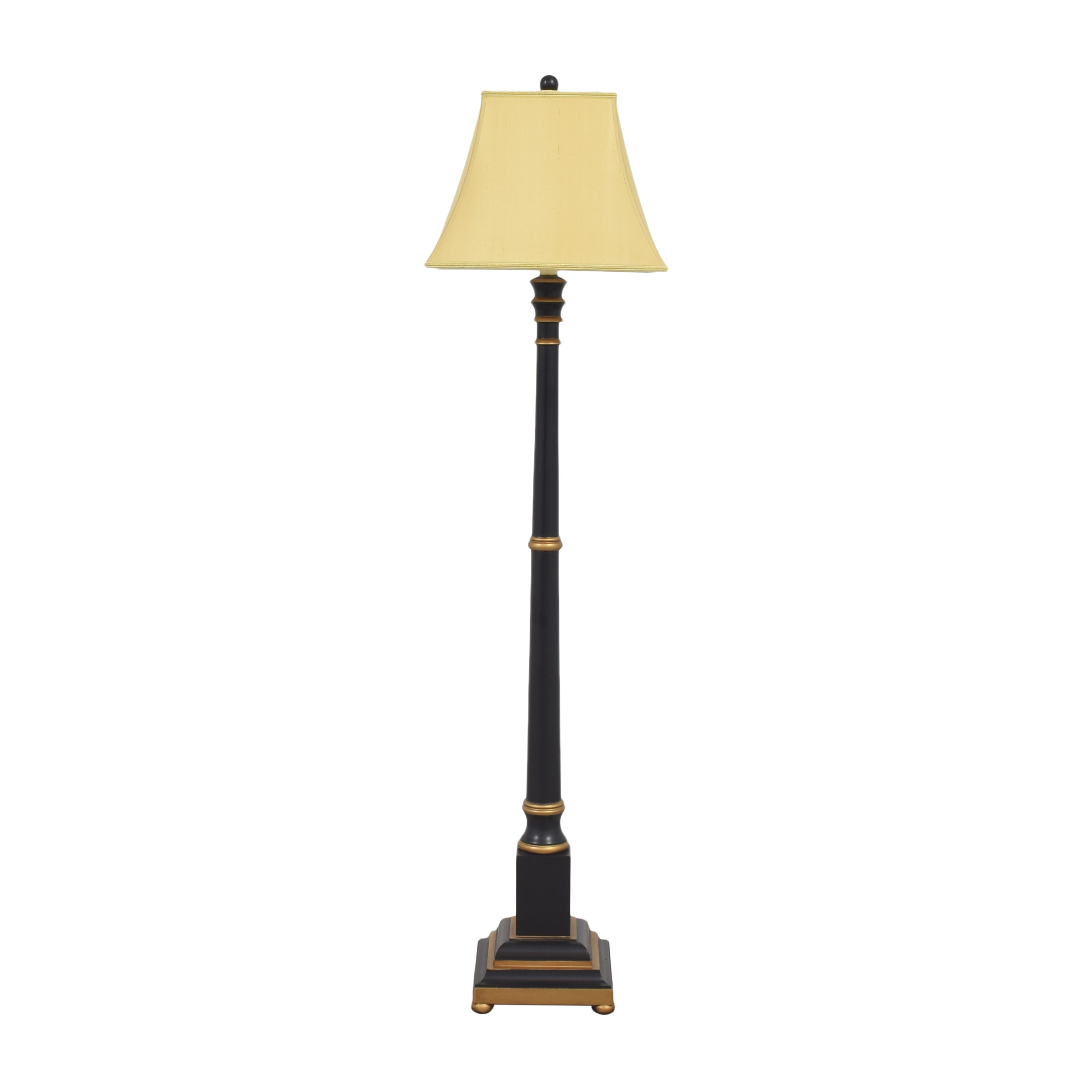 Wildwood Wildwood Candlestick Floor Lamp black & gold