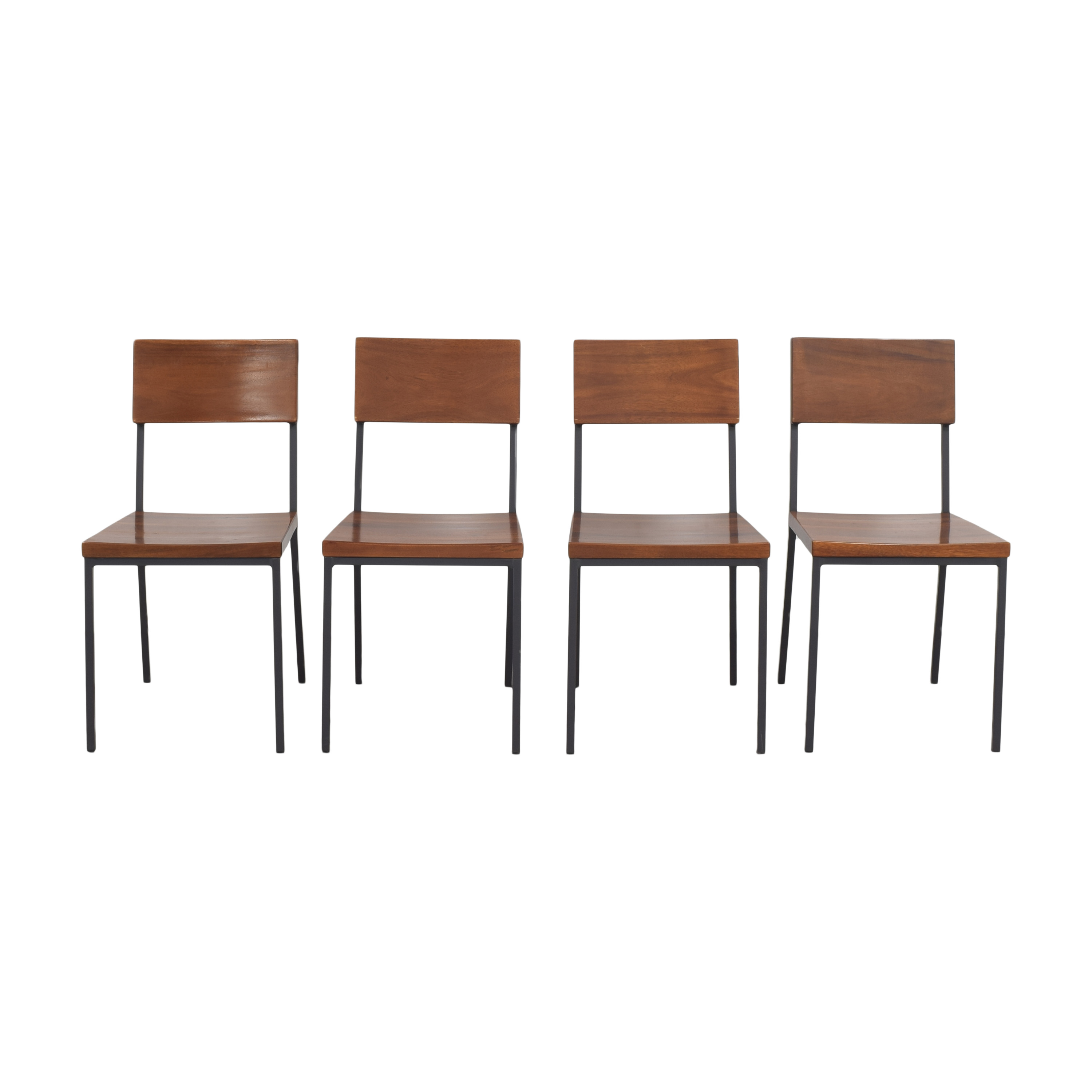 West Elm West Elm Augusta Rustic Dining Chairs ct