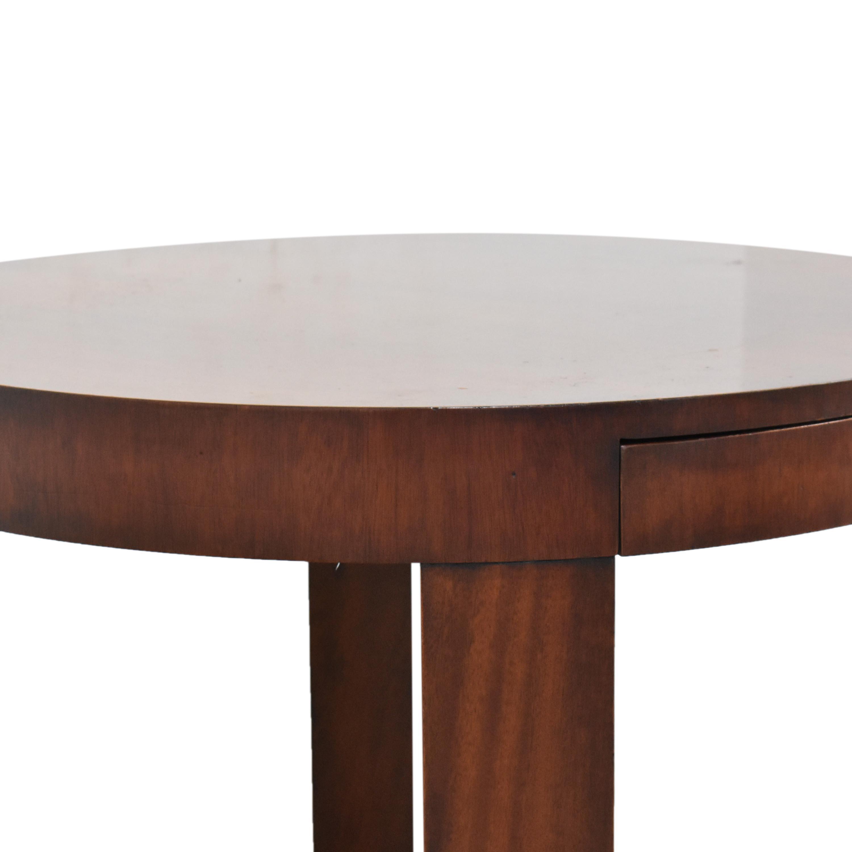 buy Ralph Lauren Home Round Single Drawer End Table  Ralph Lauren Home Tables