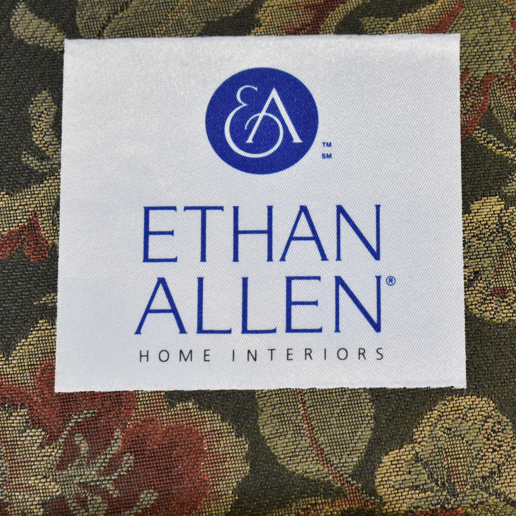Ethan Allen Ethan Allen Wing Back Accent Chair multi-colored