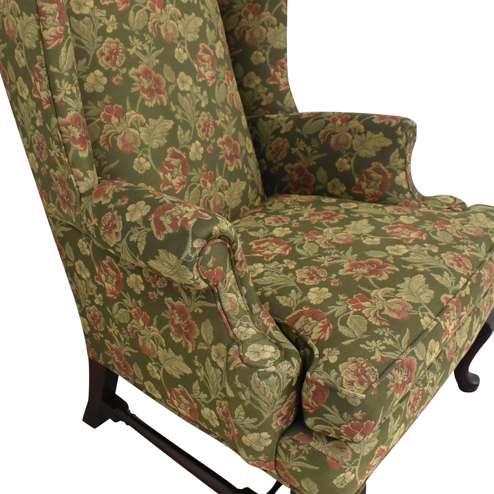 Ethan Allen Ethan Allen Wing Back Accent Chair dimensions