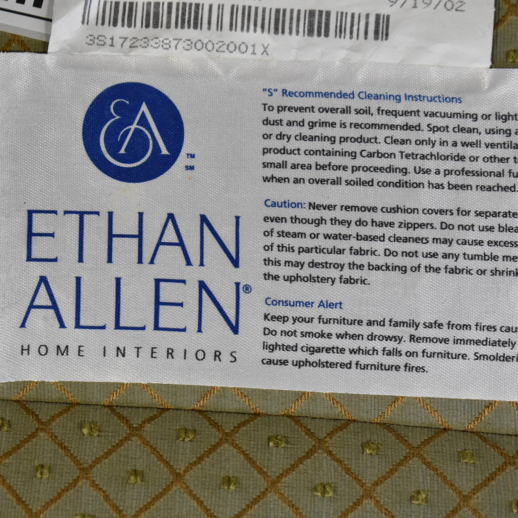 Ethan Allen Ethan Allen Skirted Accent Chair ct