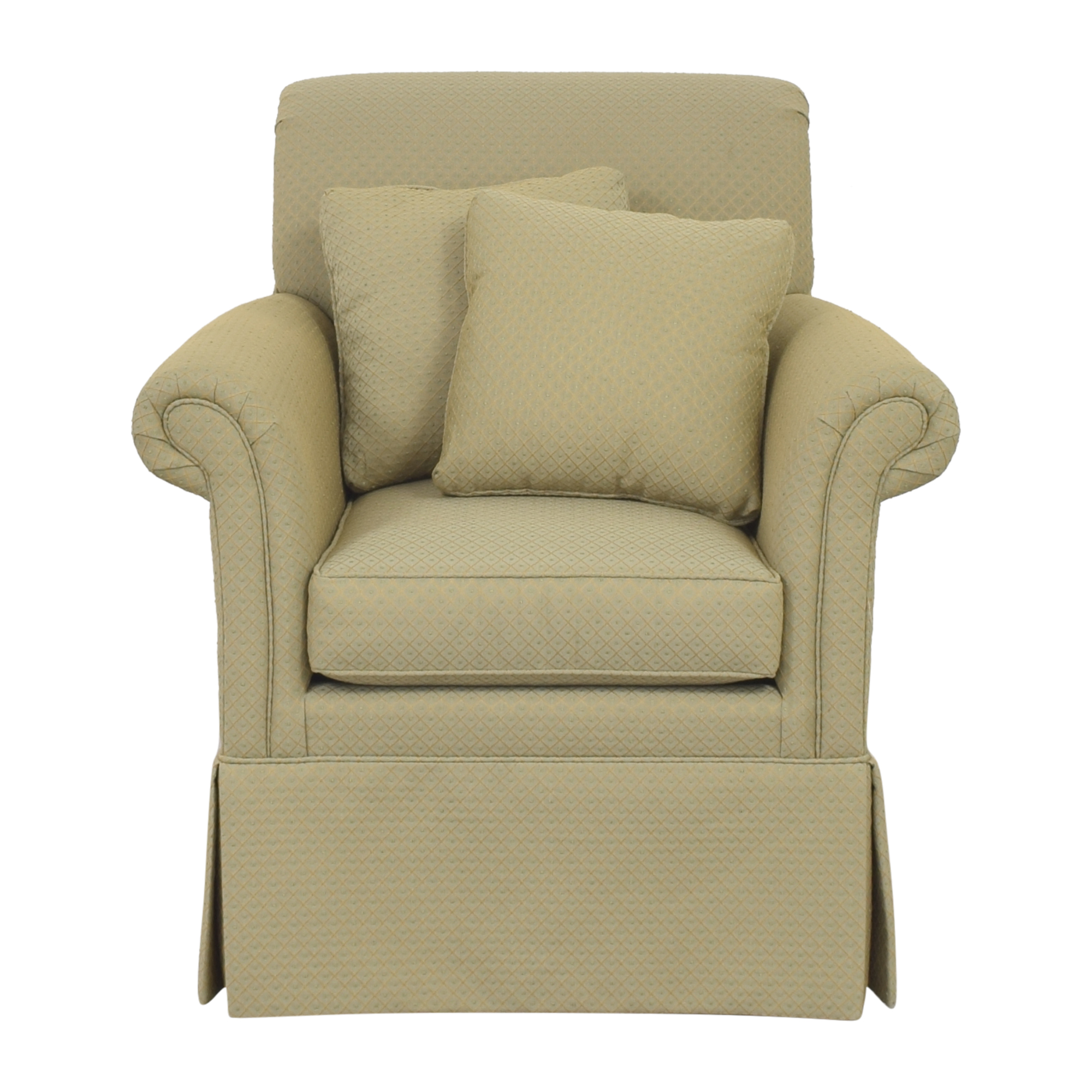 Ethan Allen Skirted Accent Chair / Chairs