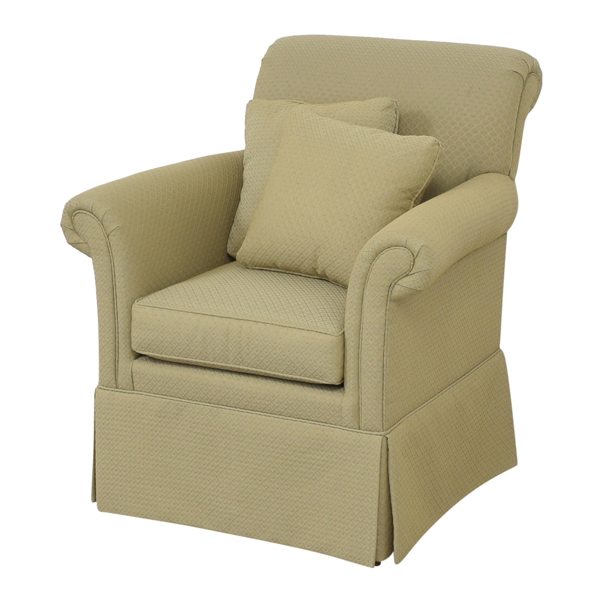 Ethan Allen Ethan Allen Skirted Accent Chair Chairs