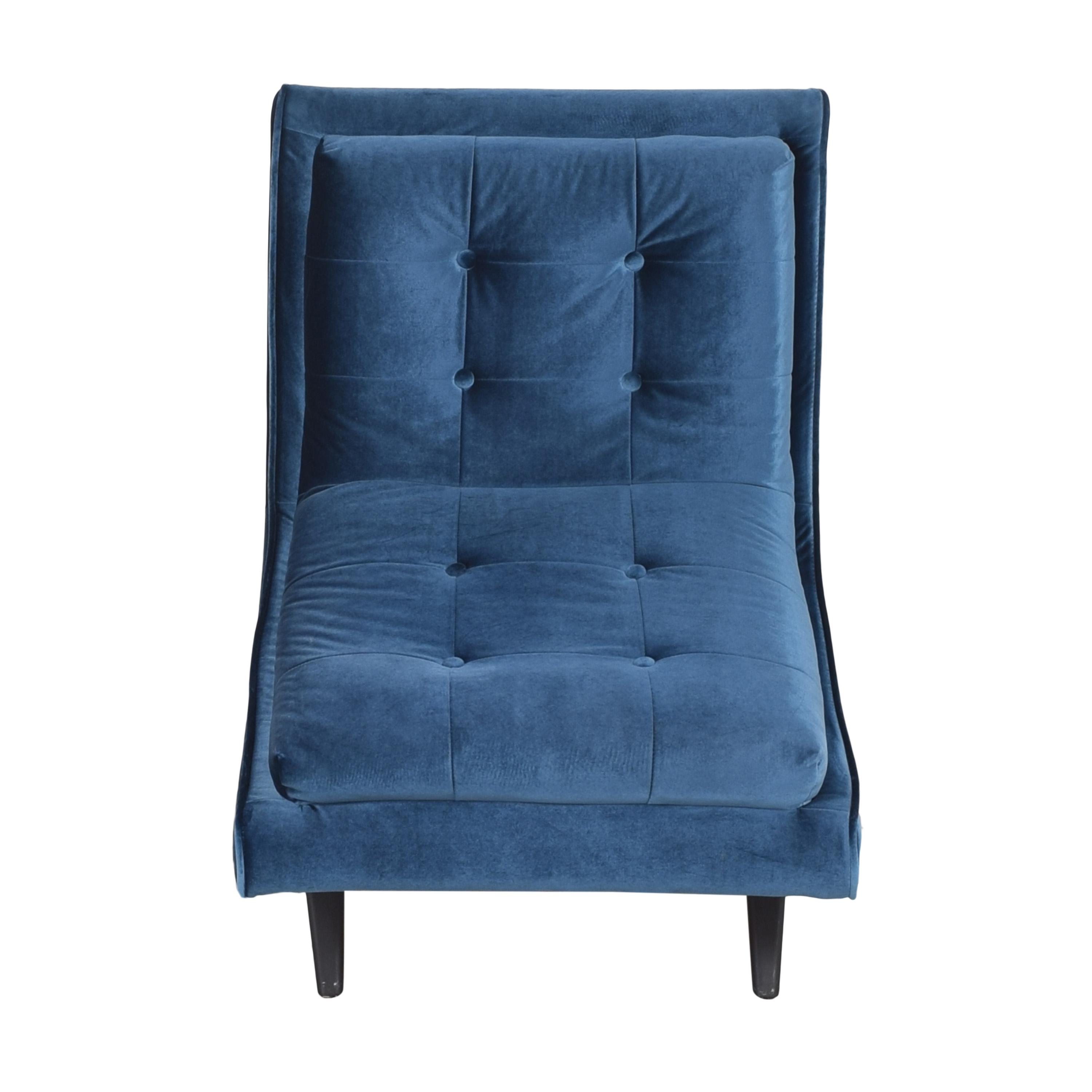 Armen Living Armen Living 5th Avenue Armless Swayback Lounge Chair on sale