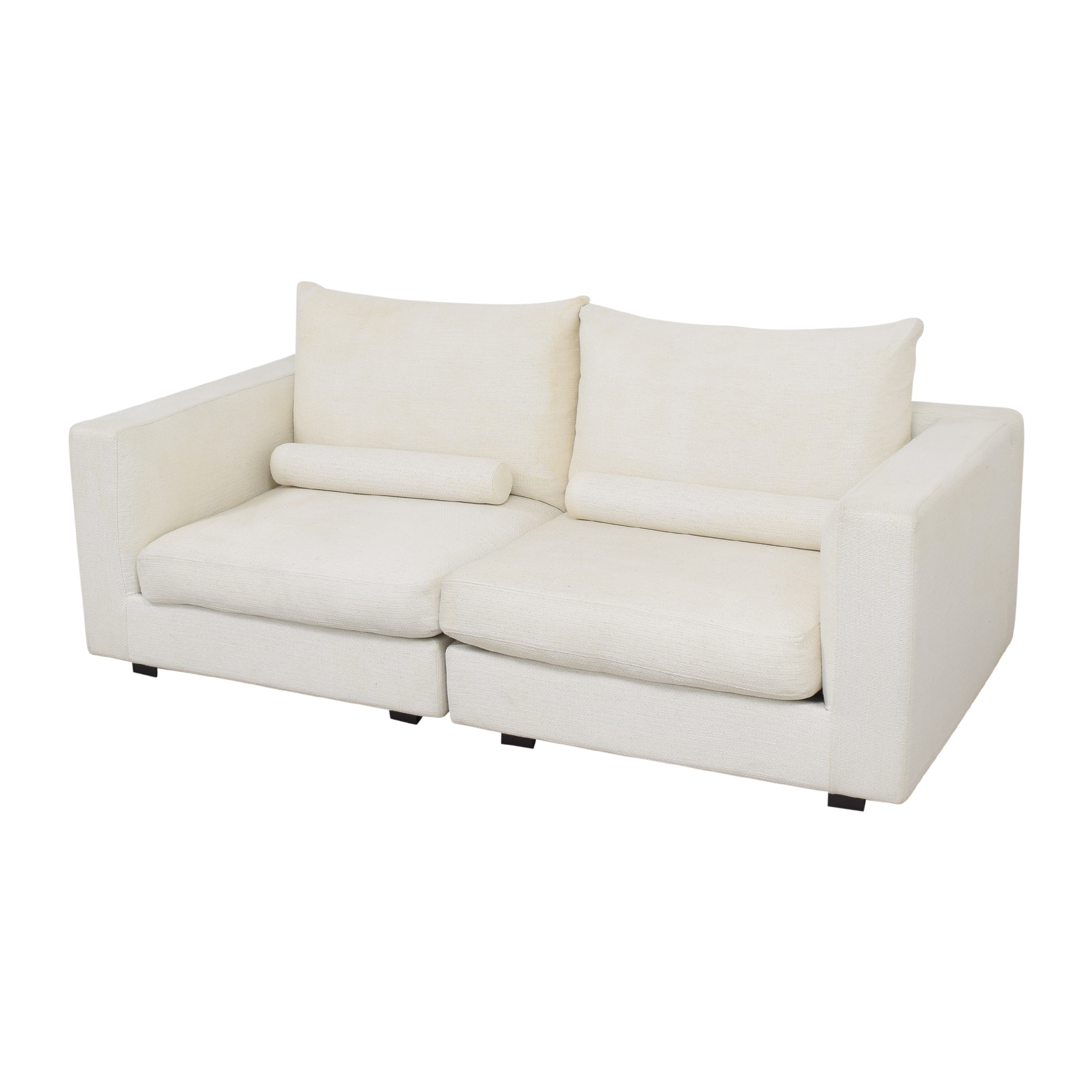 shop West Elm Hampton Two Piece Modular Sofa West Elm Sofas