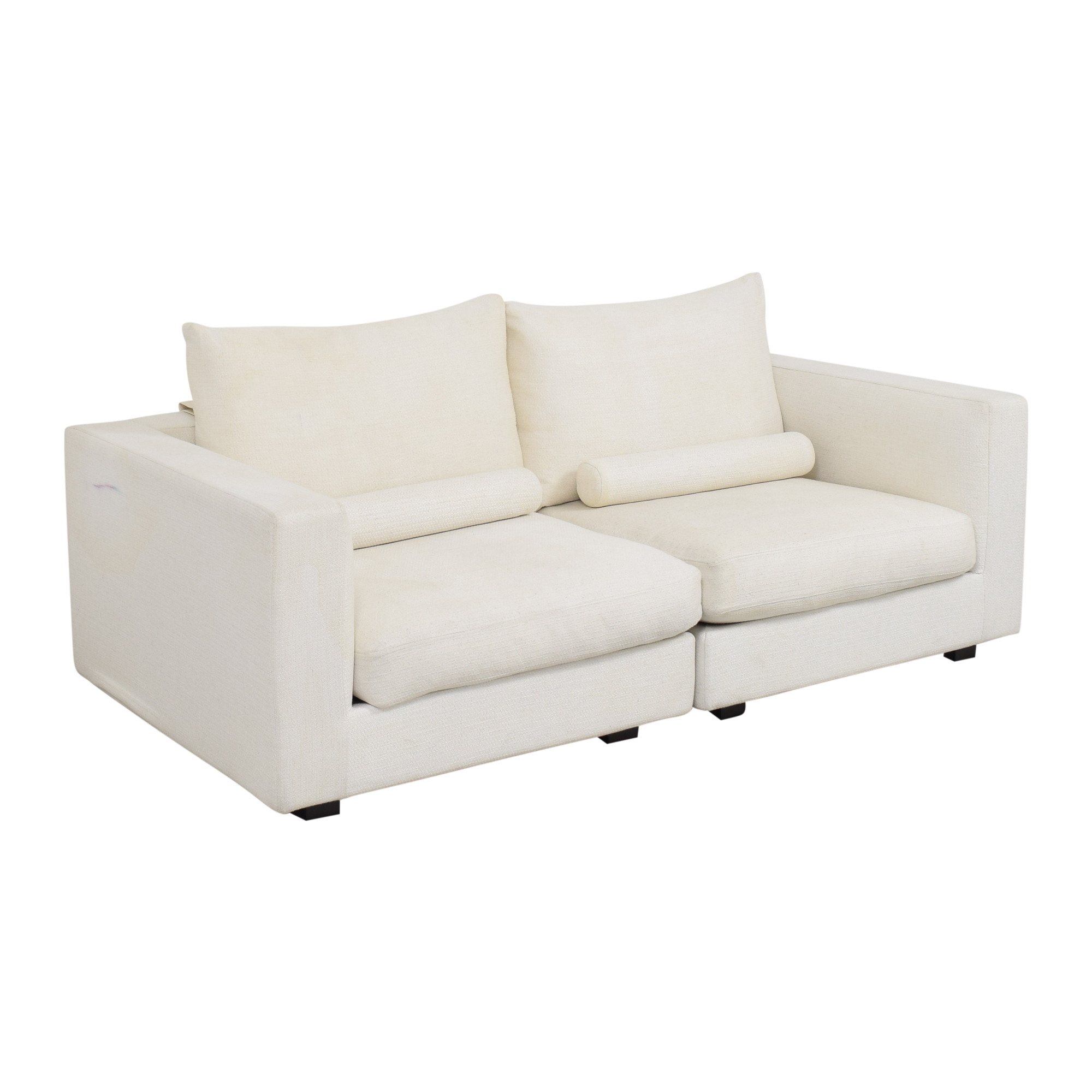 West Elm West Elm Hampton Two Piece Modular Sofa pa