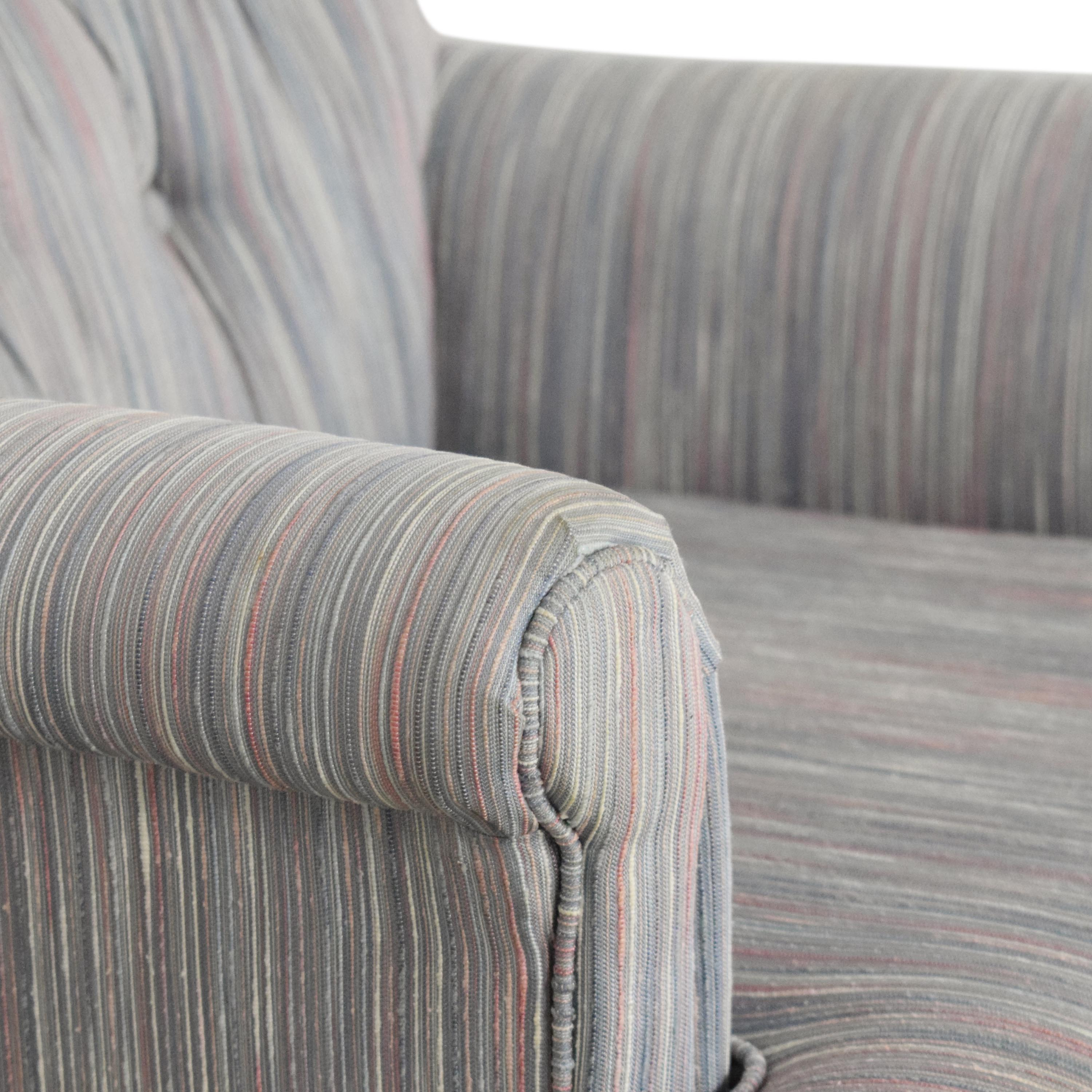 Hickory-Fry Hickory-Fry Tufted Accent Chair nyc