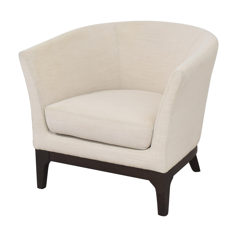 West Elm West Elm Upholstered Barrel Chair