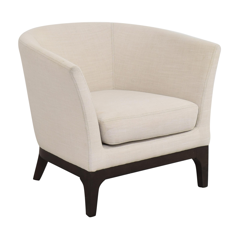 West Elm West Elm Upholstered Barrel Chair pa