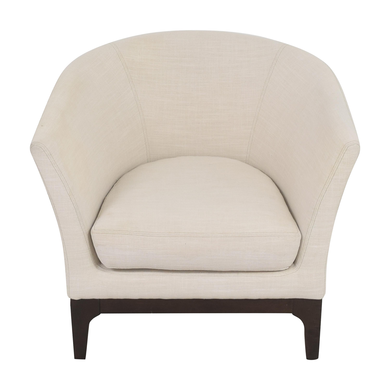 West Elm West Elm Upholstered Barrel Chair ct