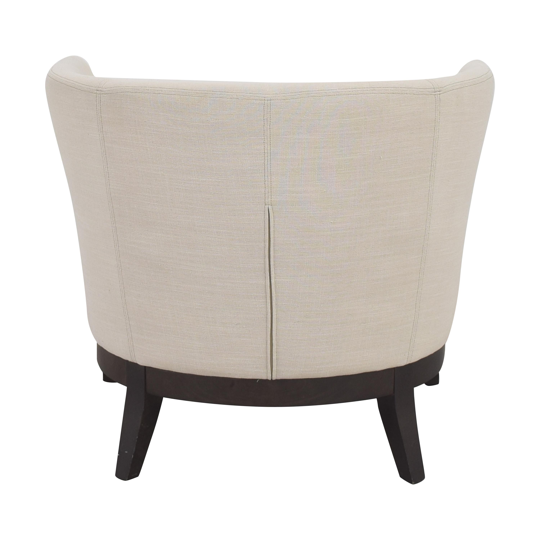 West Elm West Elm Upholstered Barrel Chair dimensions