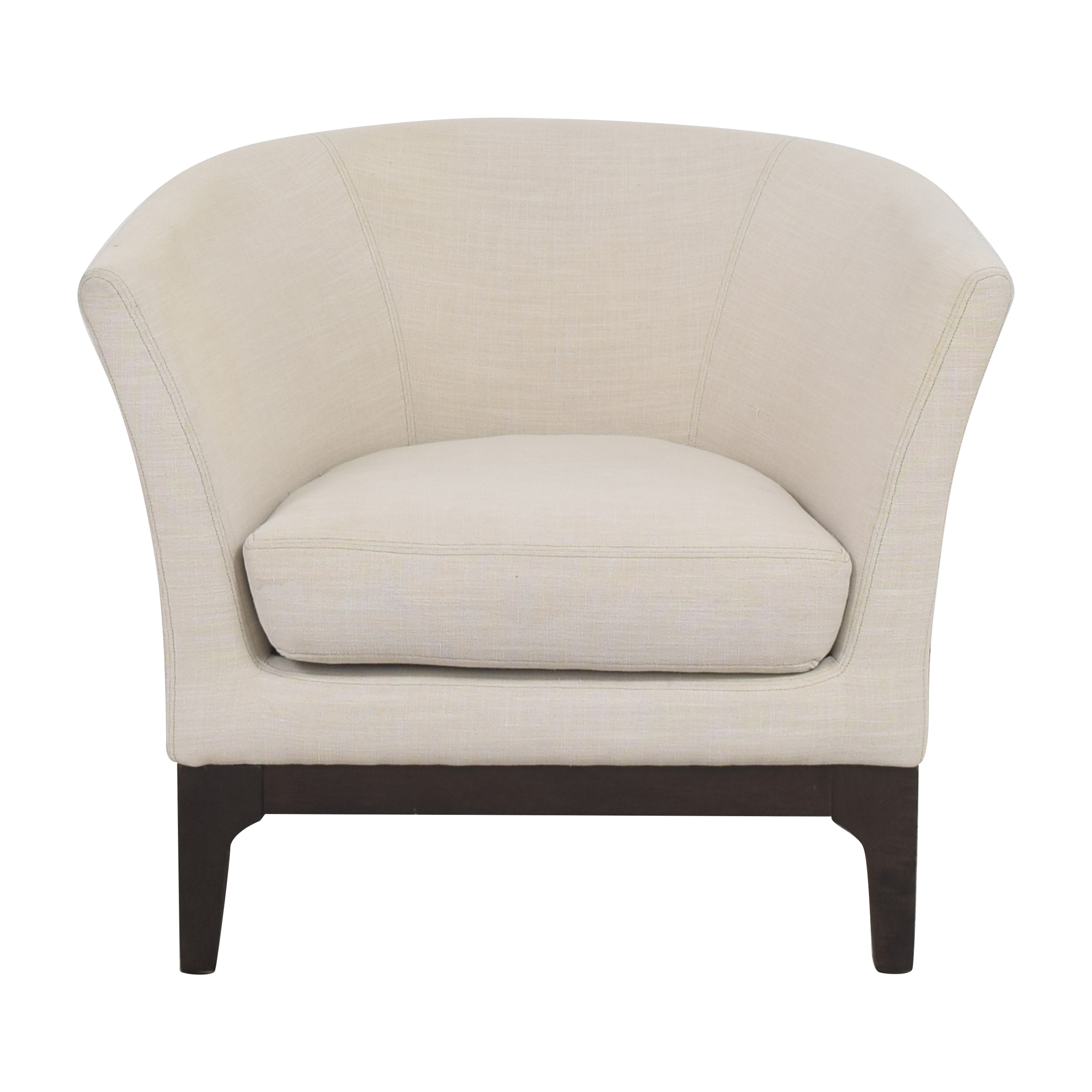 buy West Elm Upholstered Barrel Chair West Elm Chairs