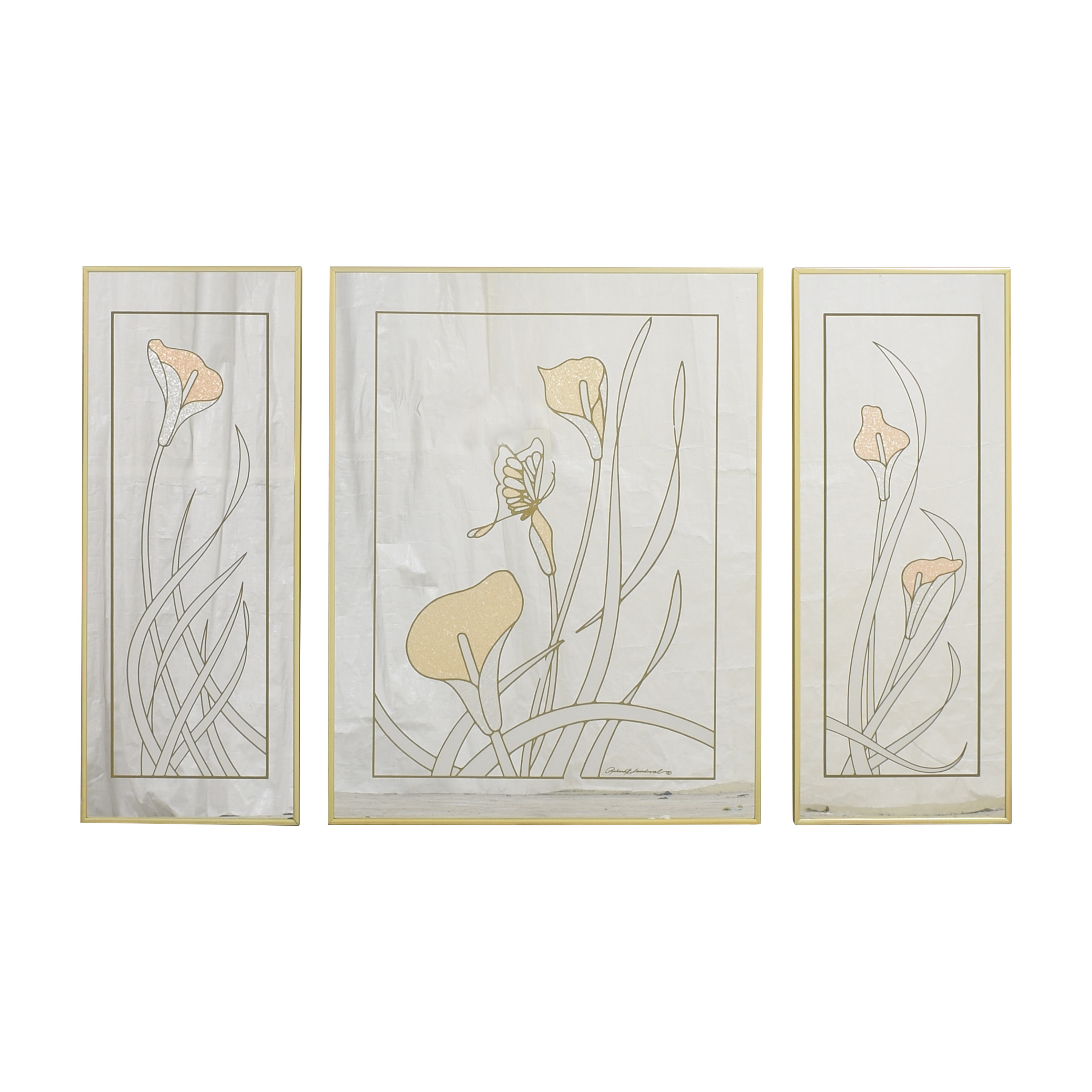 Richard E. Sandoval Decorative Mirror Triptych price