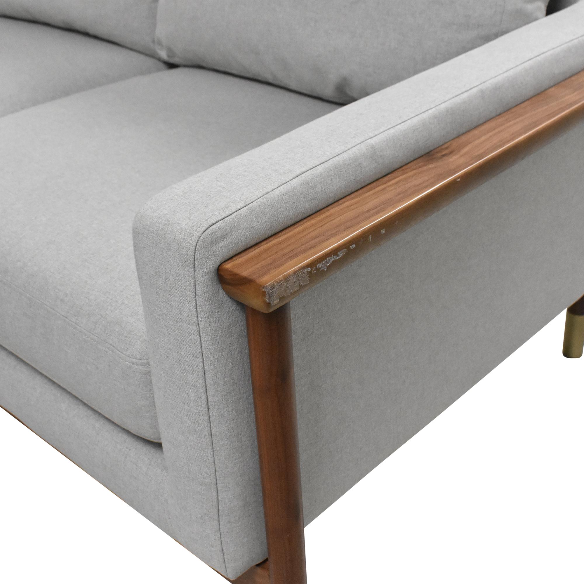 Interior Define Interior Define Jason Wu Loveseat Sofa on sale