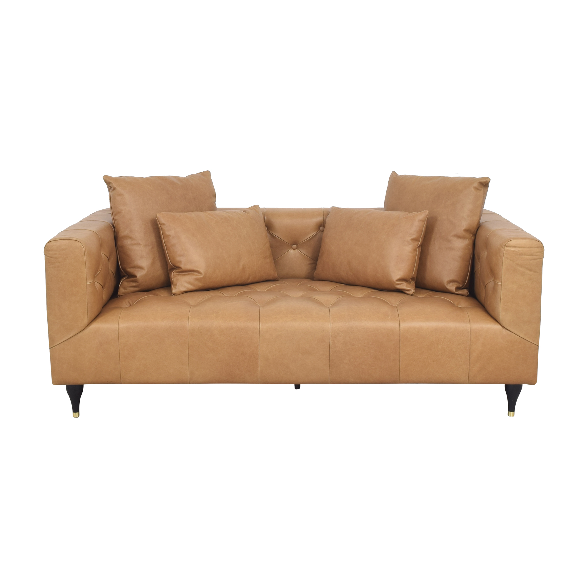Interior Define Ms. Chesterfield Tufted Sofa sale