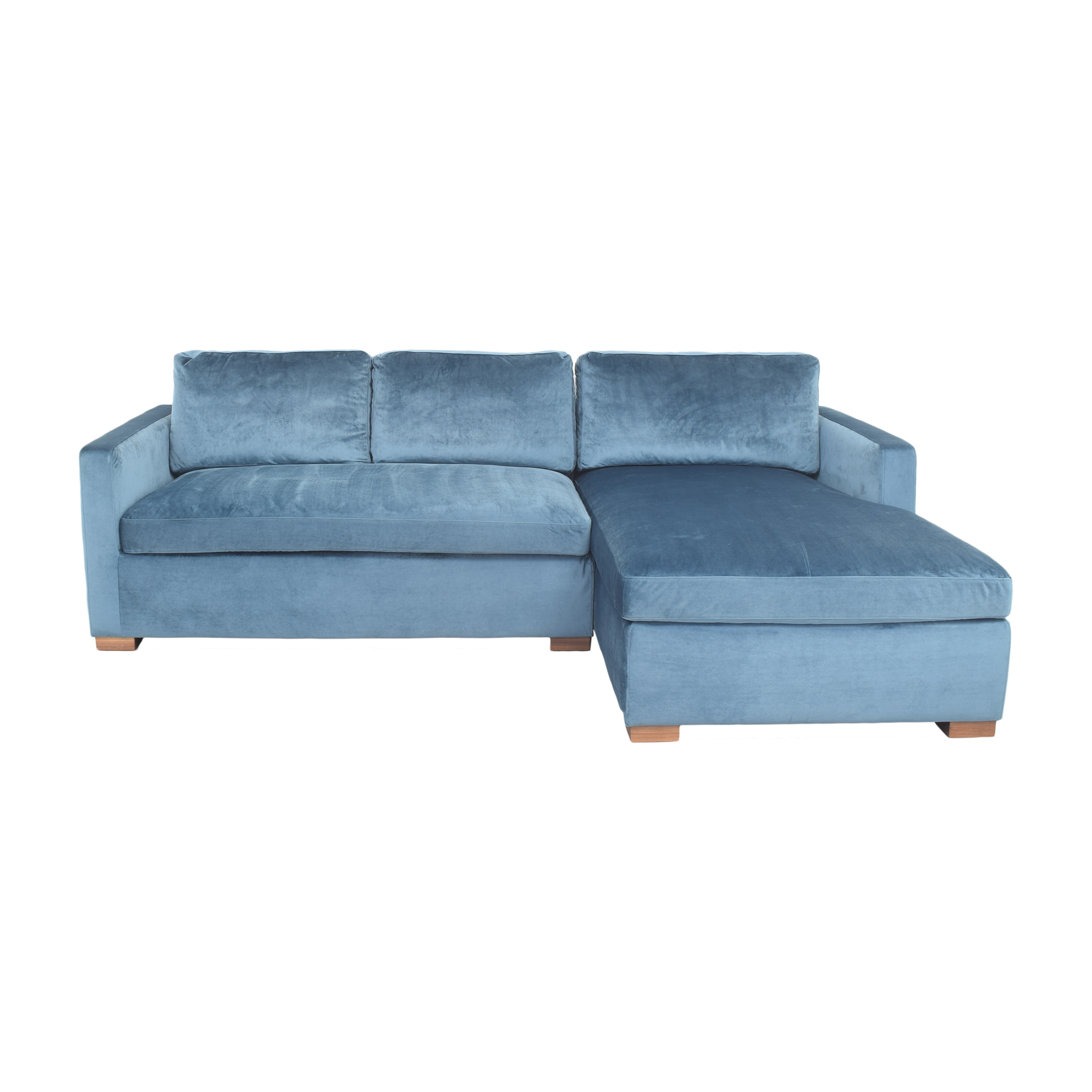 Interior Define Charly Sectional Sofa with Chaise / Sofas