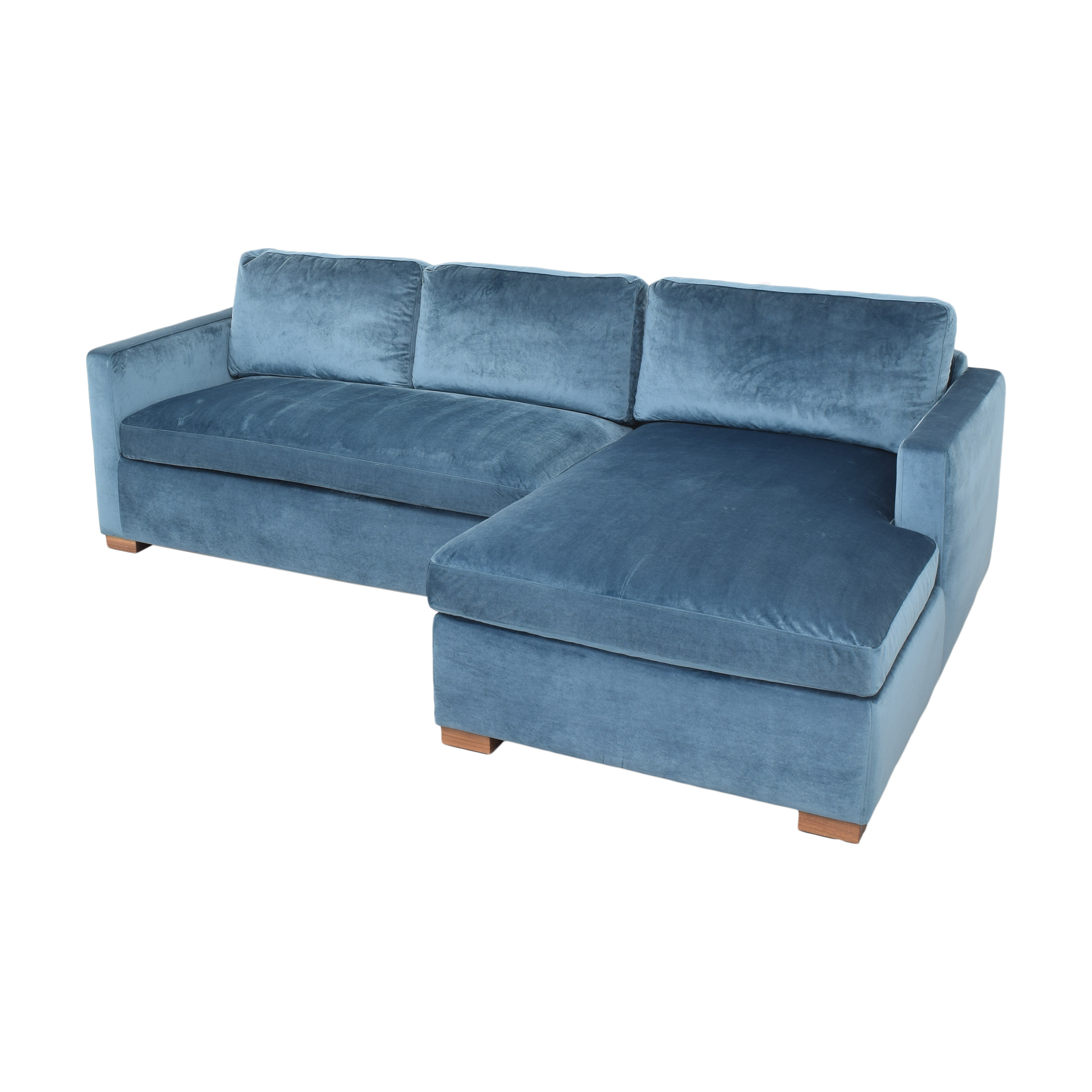 Interior Define Interior Define Charly Sectional Sofa with Chaise used