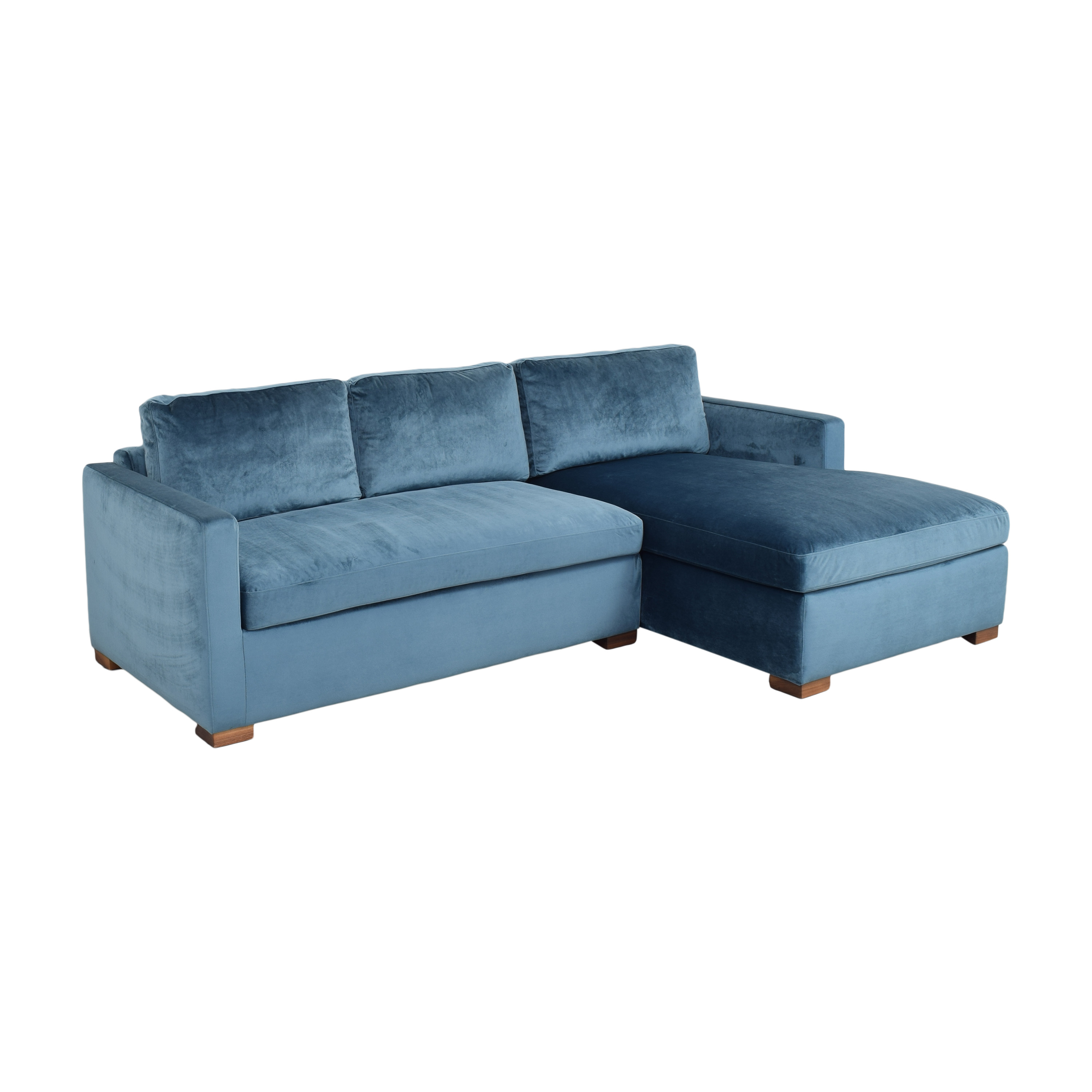 Interior Define Interior Define Charly Sectional Sofa with Chaise pa