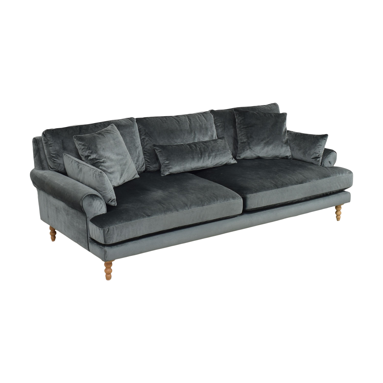 Interior Define Interior Define Maxwell Two Cushion Sofa Classic Sofas