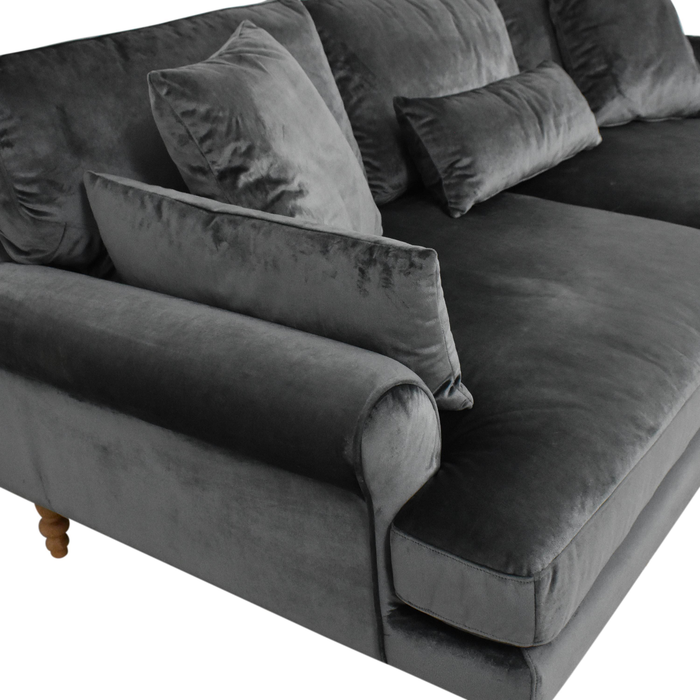 shop Interior Define Maxwell Two Cushion Sofa Interior Define Sofas