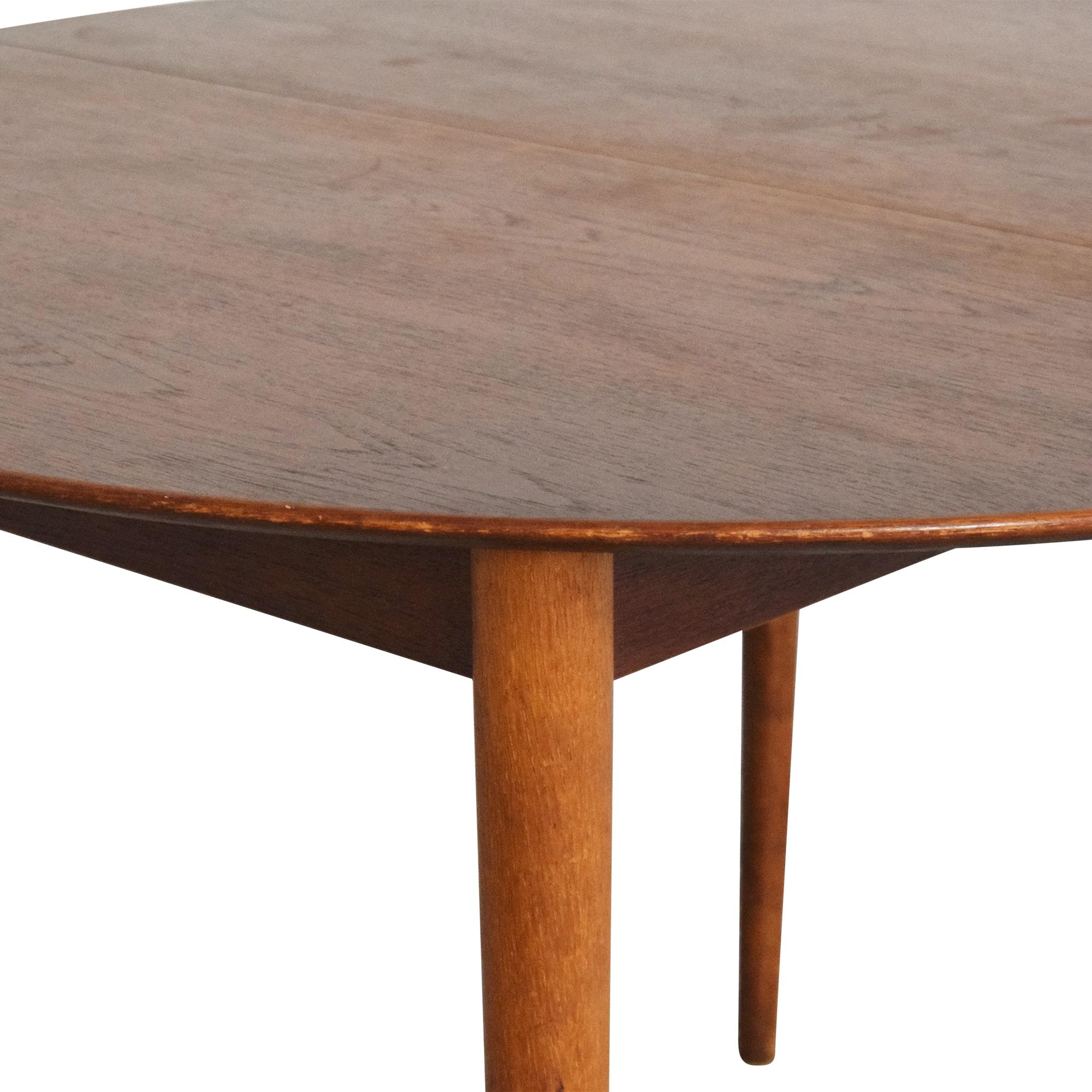 Søborg Møbelfabrik Soborg Mobelfabrik Mid Century Danish Extendable Dining Table  ct