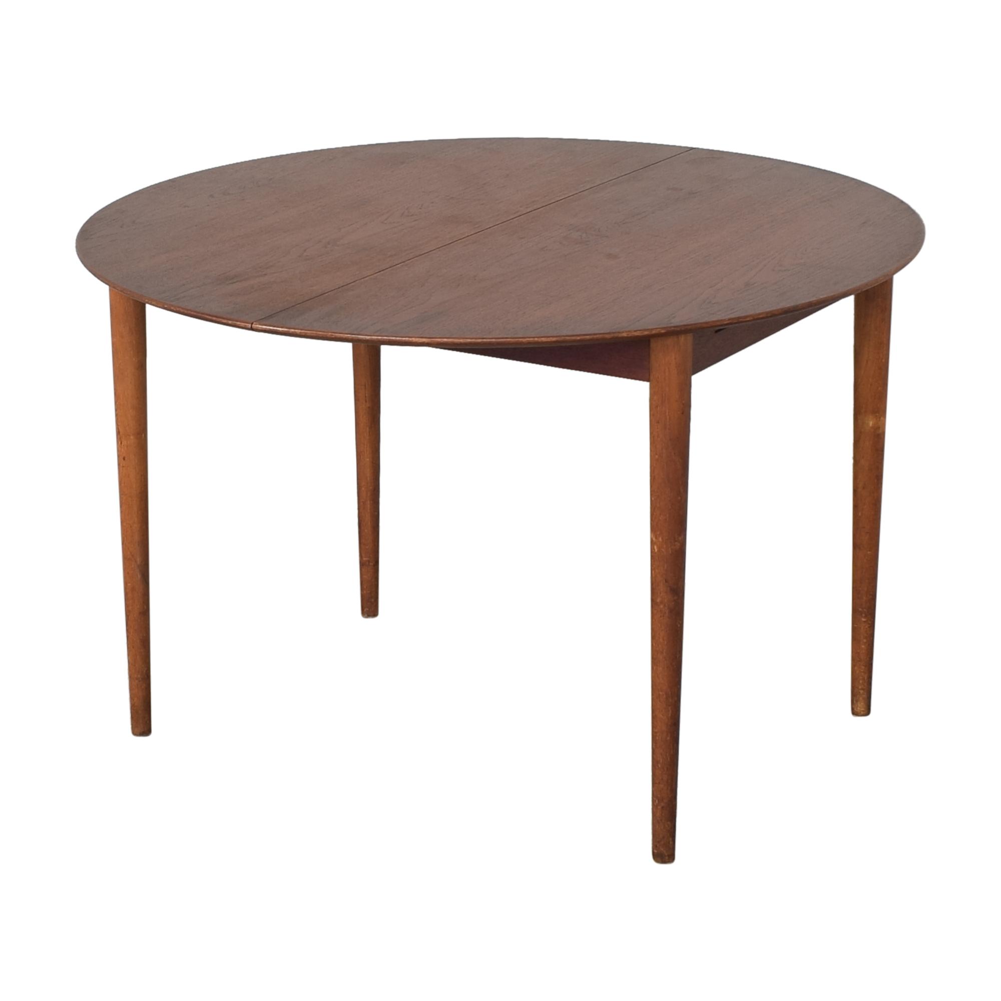 Søborg Møbelfabrik Soborg Mobelfabrik Mid Century Danish Extendable Dining Table  nj