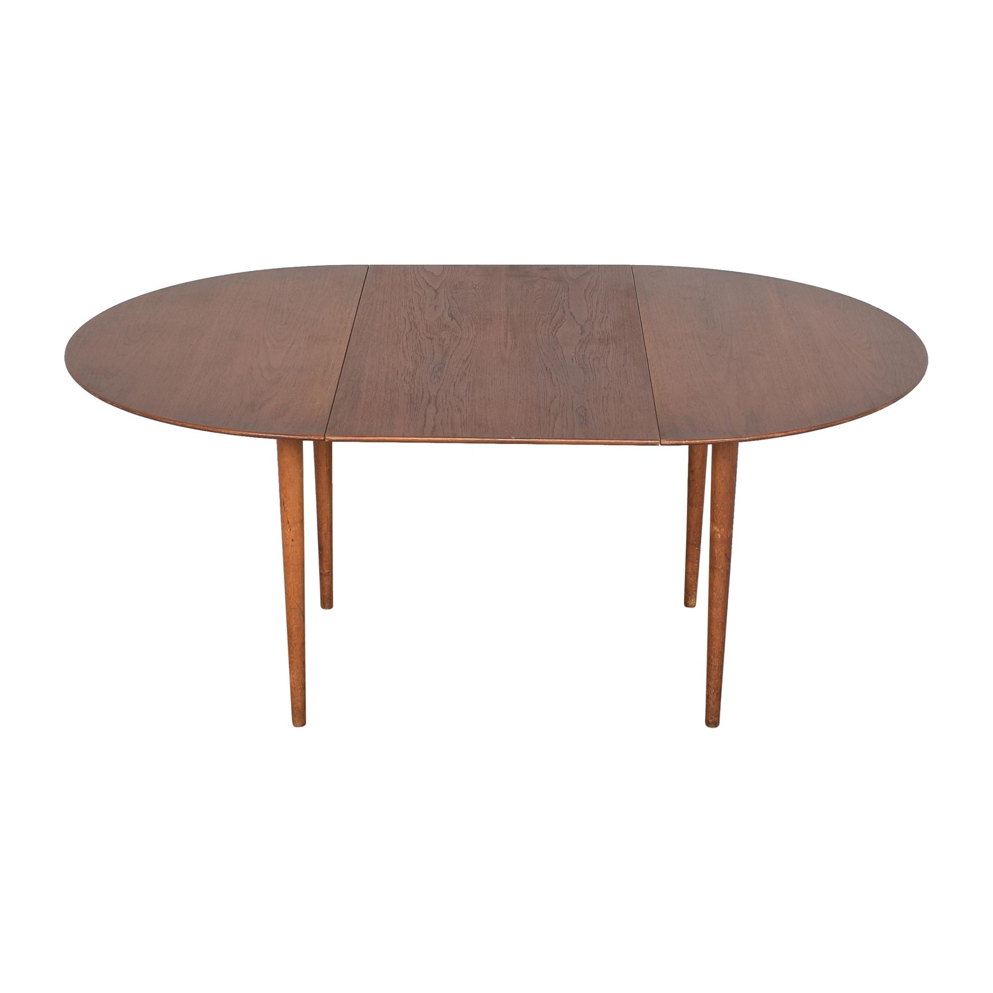 buy Soborg Mobelfabrik Mid Century Danish Extendable Dining Table  Søborg Møbelfabrik