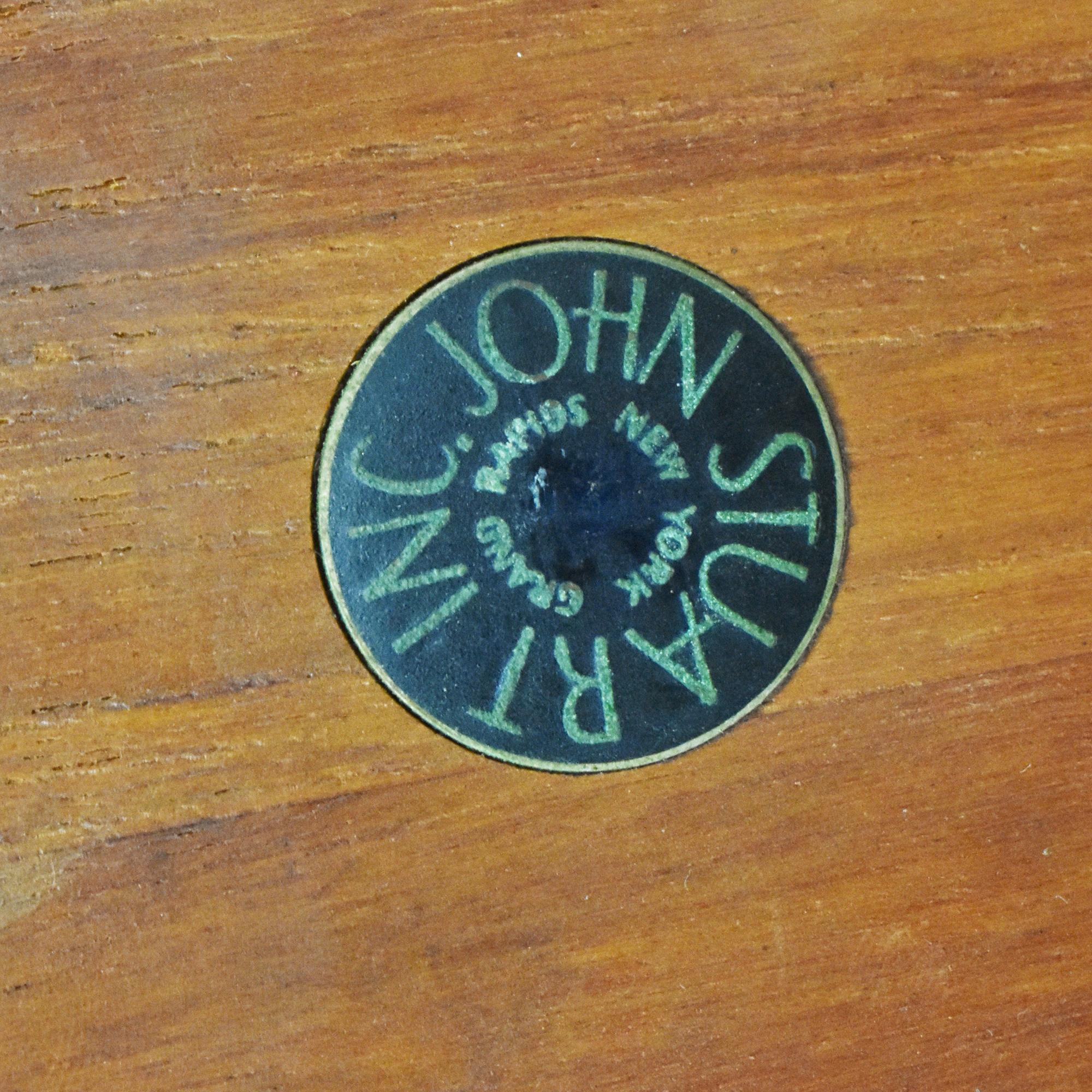 John Stuart Inc. John Stuart Inc. Mid Century Danish Side Tables discount