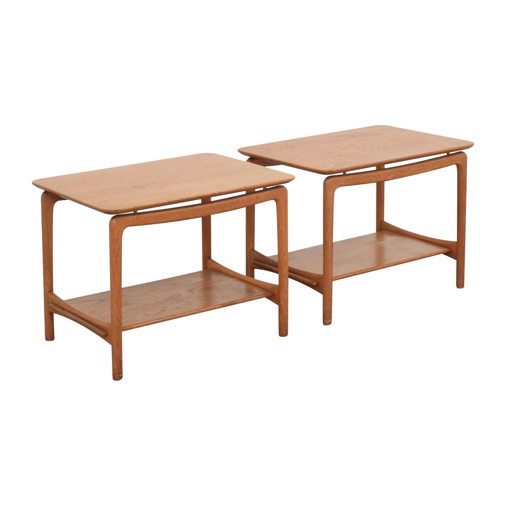 John Stuart Inc. John Stuart Inc. Mid Century Danish Side Tables ct