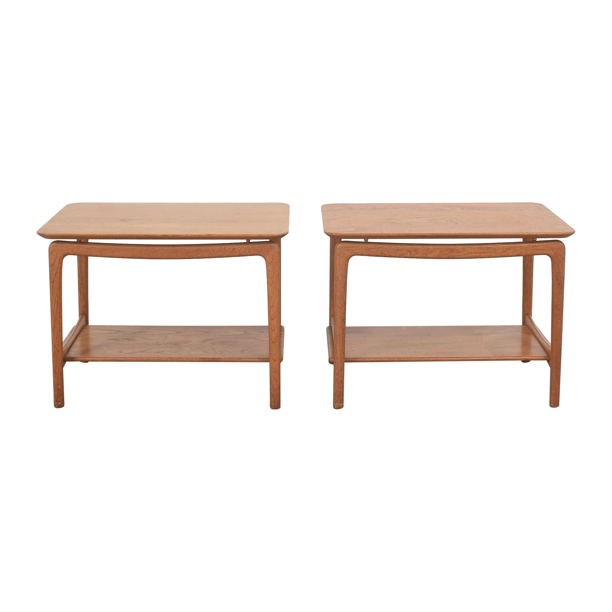 shop John Stuart Inc. Mid Century Danish Side Tables John Stuart Inc. End Tables