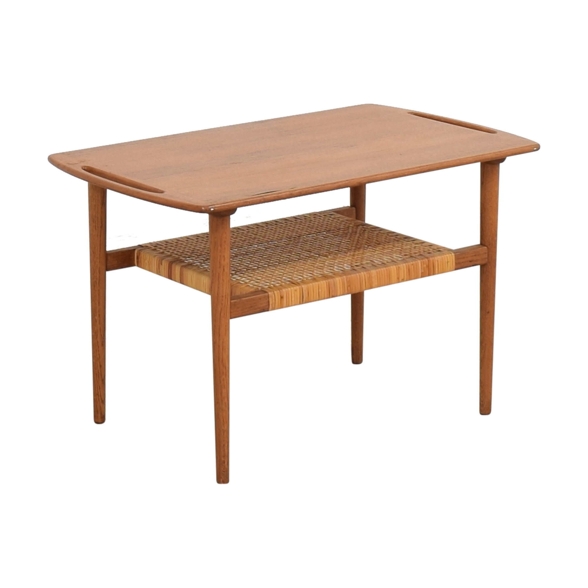 Andreas Tuck Andreas Tuck Cane Shelf Side Table dimensions