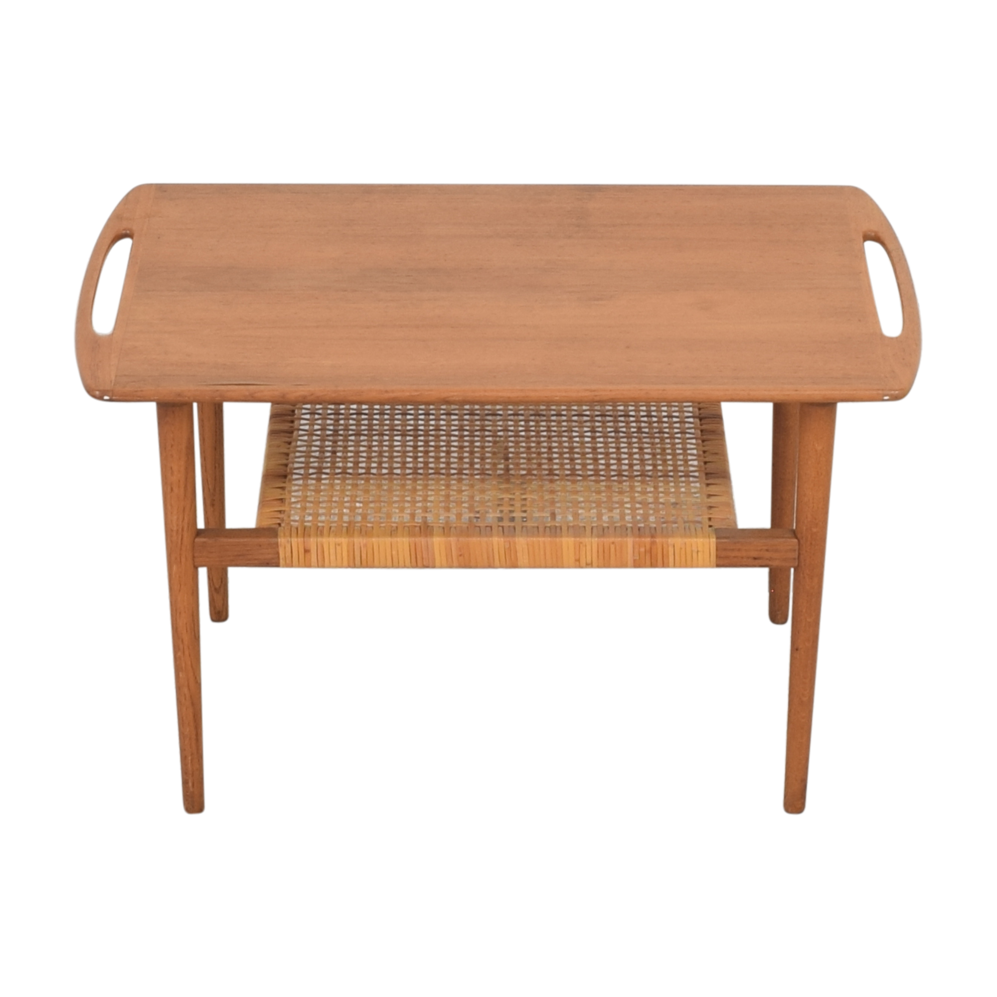 Andreas Tuck Andreas Tuck Cane Shelf Side Table Tables
