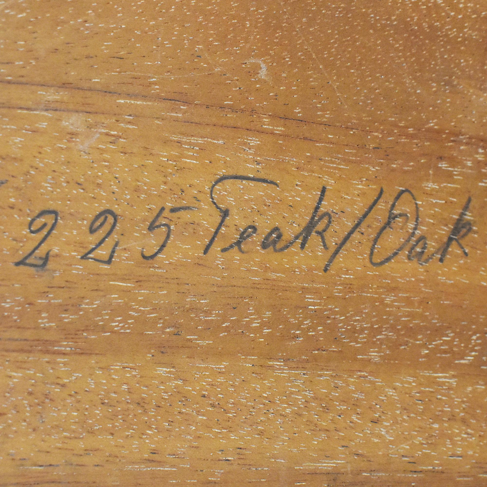 Andreas Tuck Andreas Tuck Cane Shelf Side Table pa